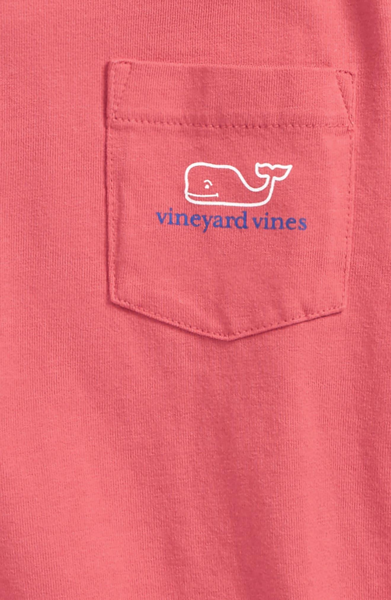 Alternate Image 3  - vineyard vines Two-Tone Whale Hooded T-Shirt (Toddler Boys & Little Boys)