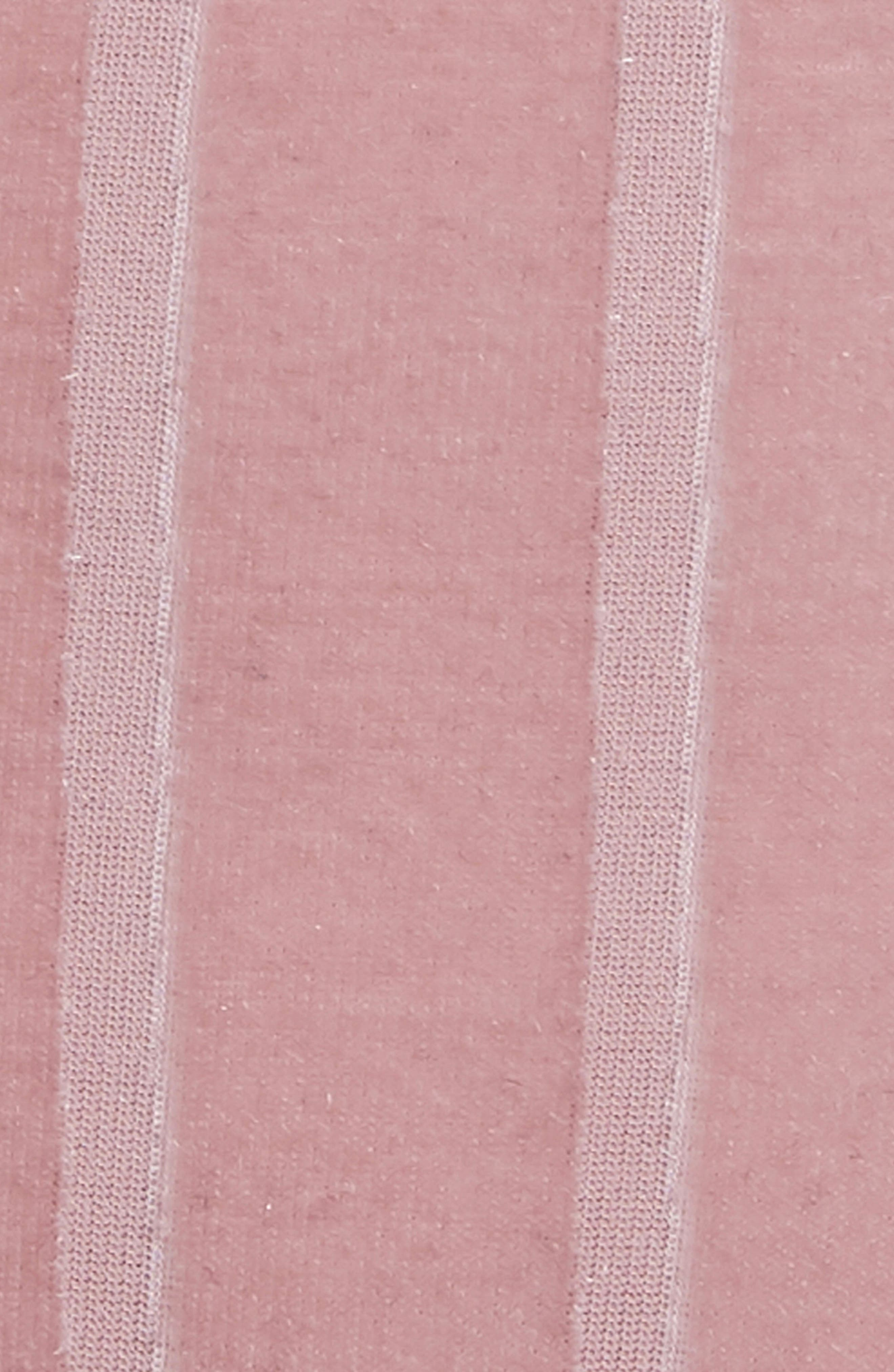Beliza Strappy Thong Bodysuit,                             Alternate thumbnail 5, color,                             Stripe Burnout