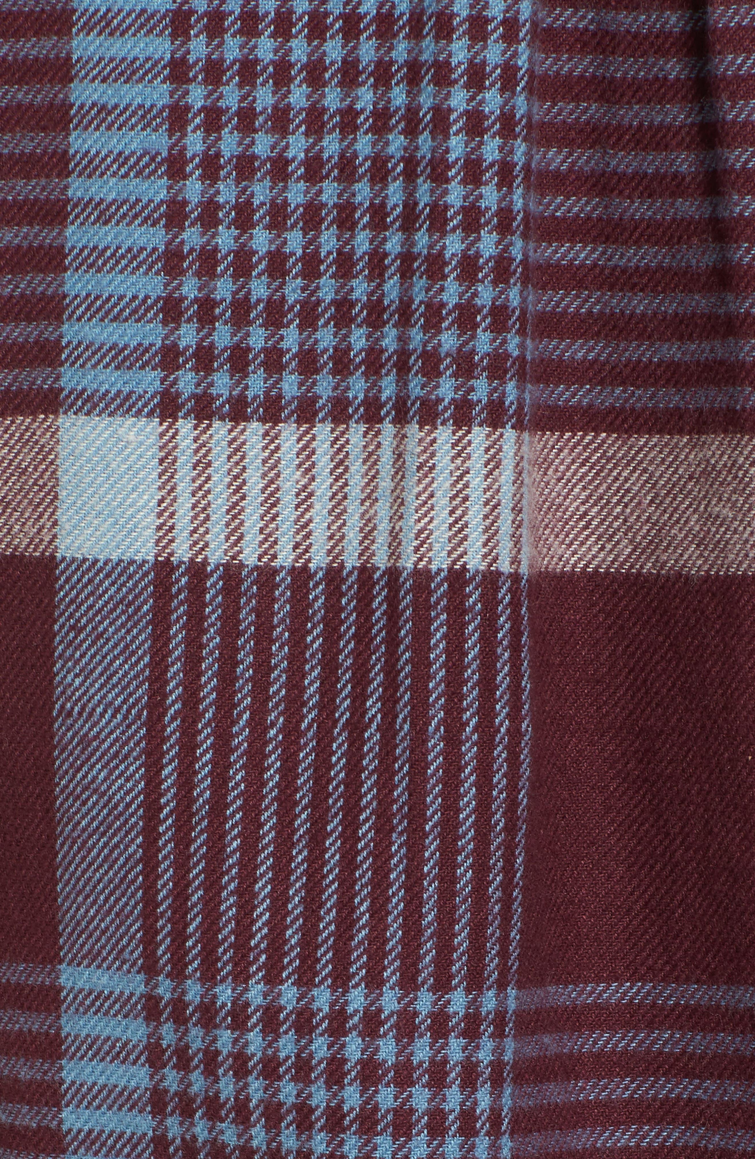 Alternate Image 5  - RVCA Plaid Flannel Shirt