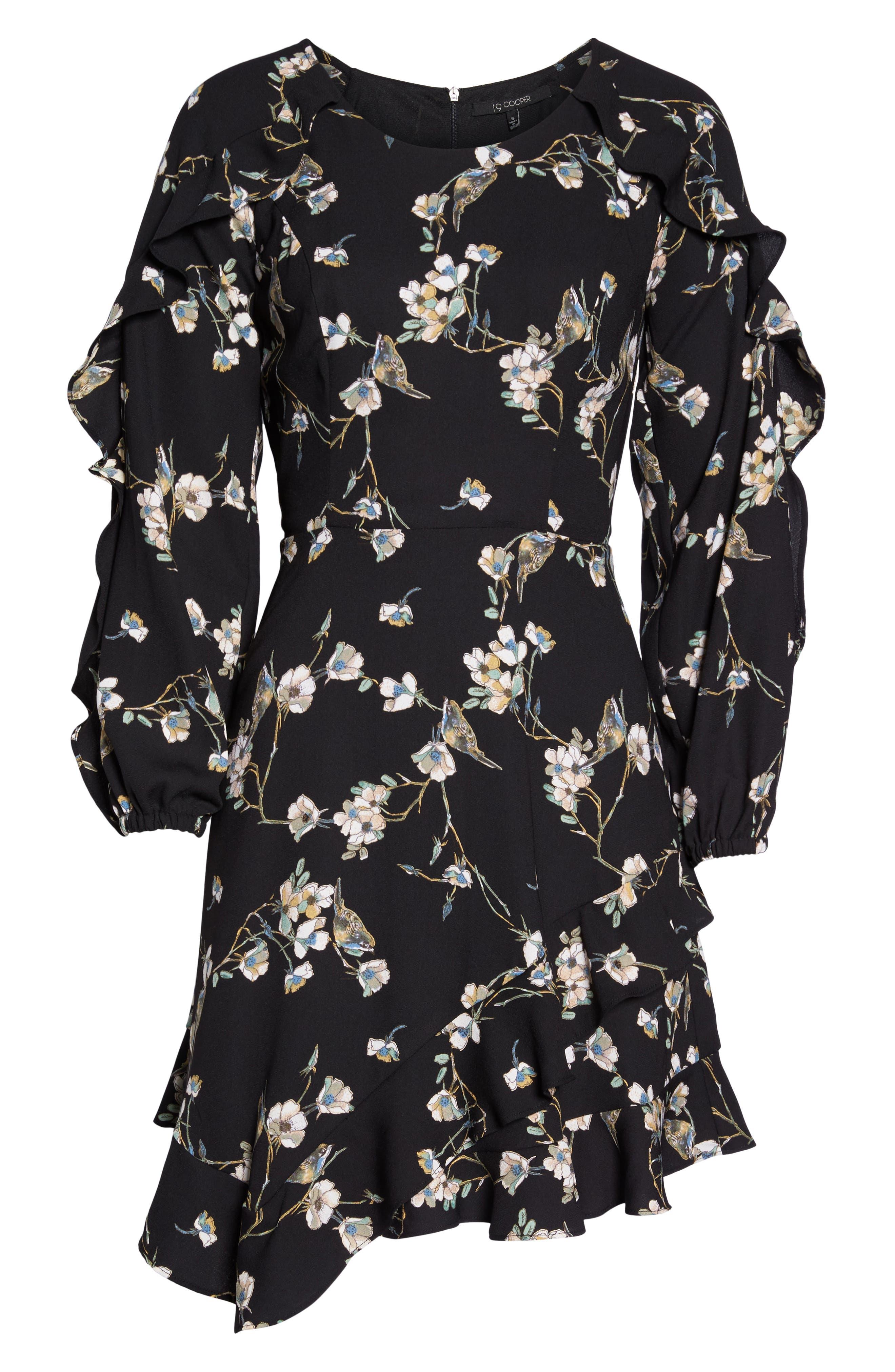 Alternate Image 6  - 19 Cooper Ruffle Hem Dress