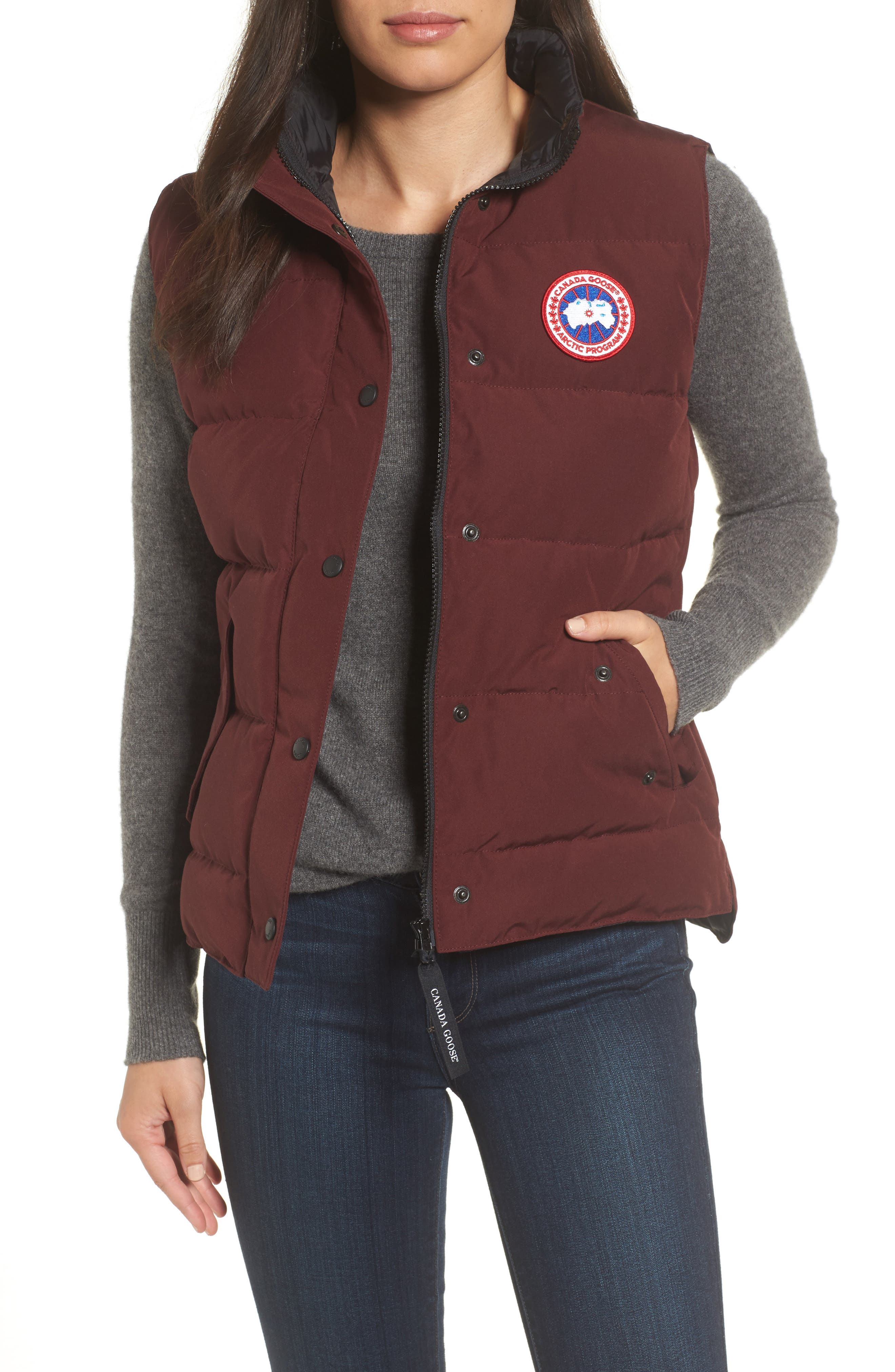 Main Image - Canada Goose 'Freestyle' Slim Fit Down Vest (Online Only)