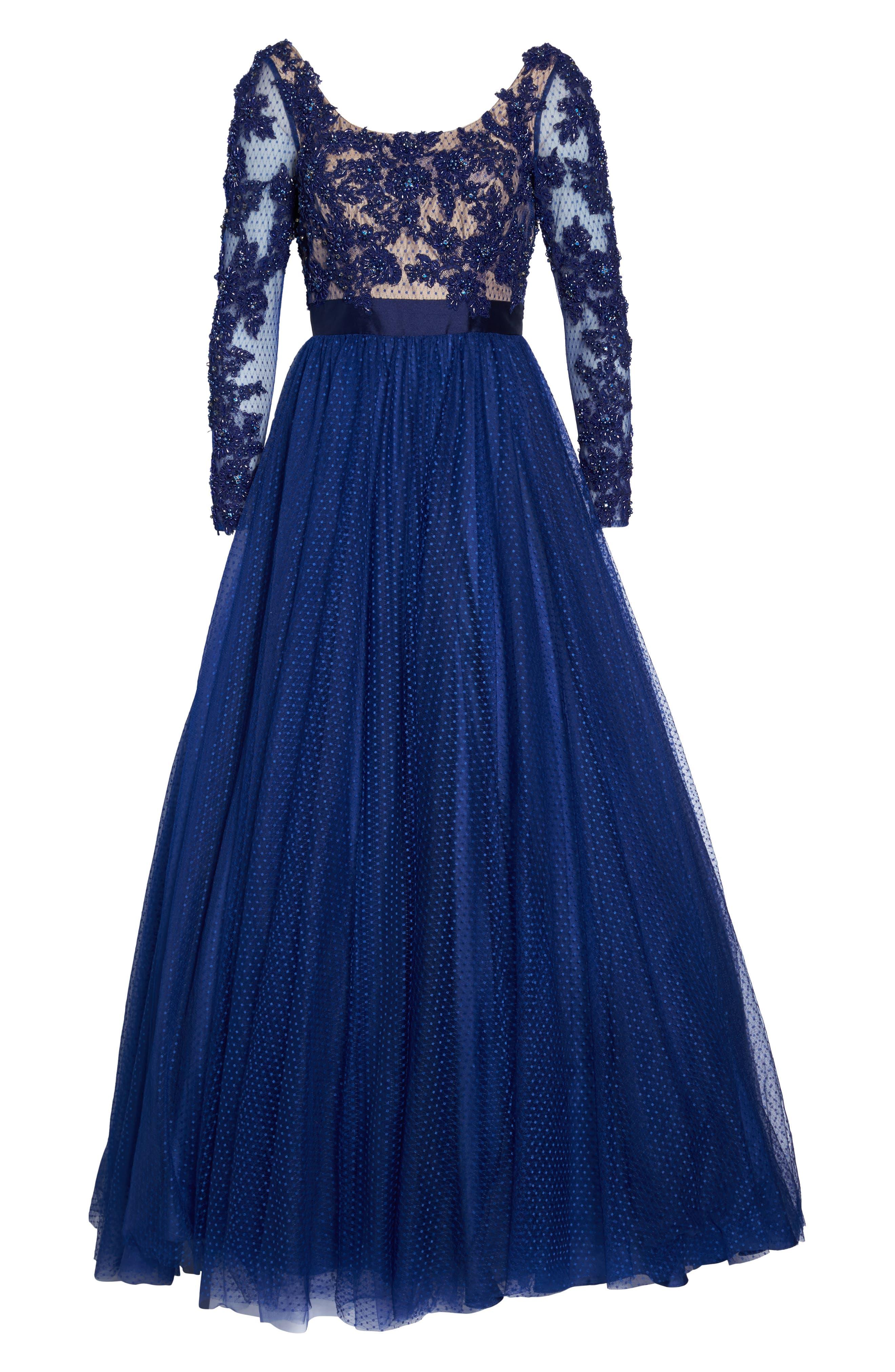 Alternate Image 7  - Mac Duggal Beaded Bodice Gown