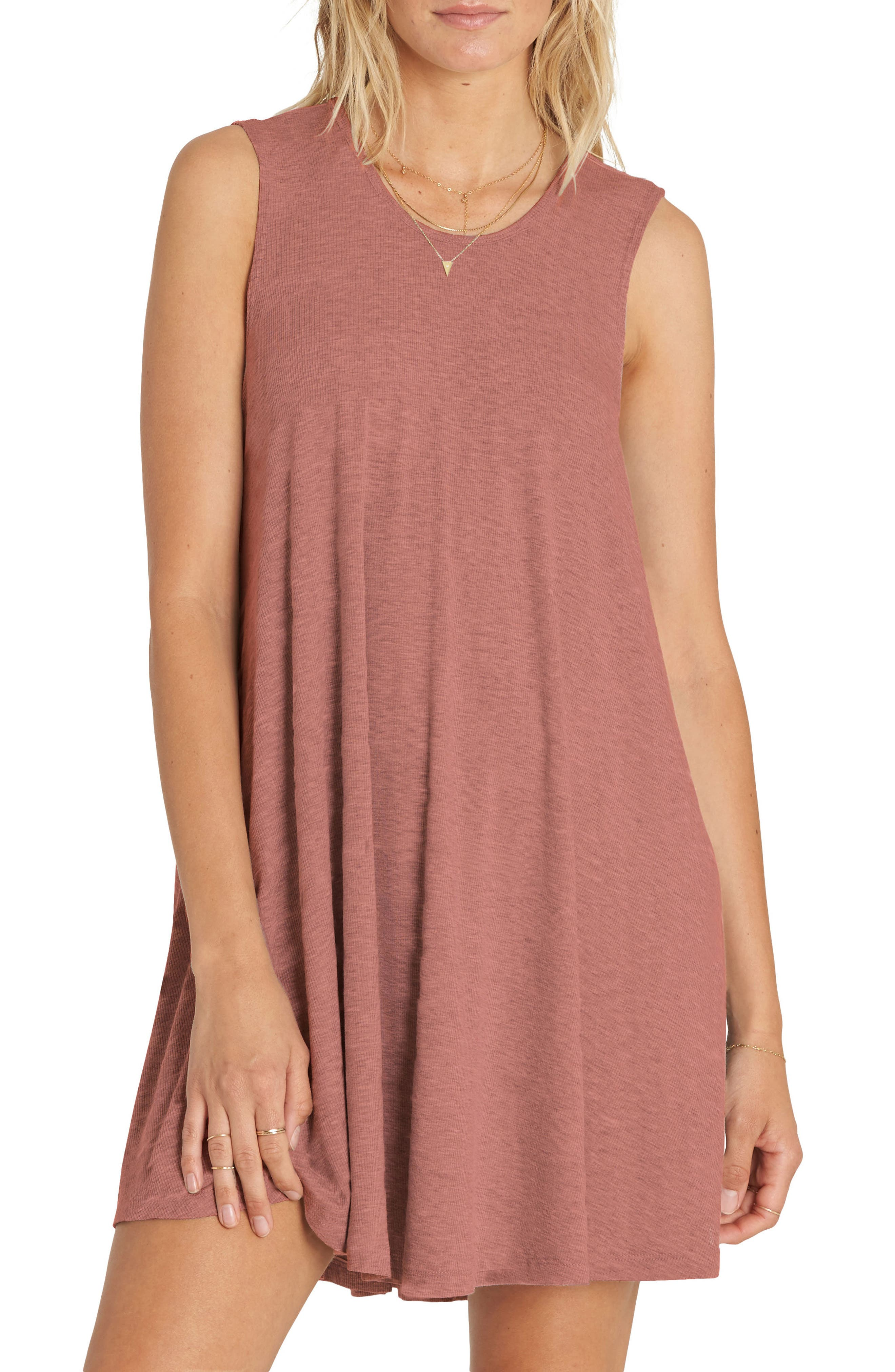 Main Image - Billabong Knockout Swing Dress