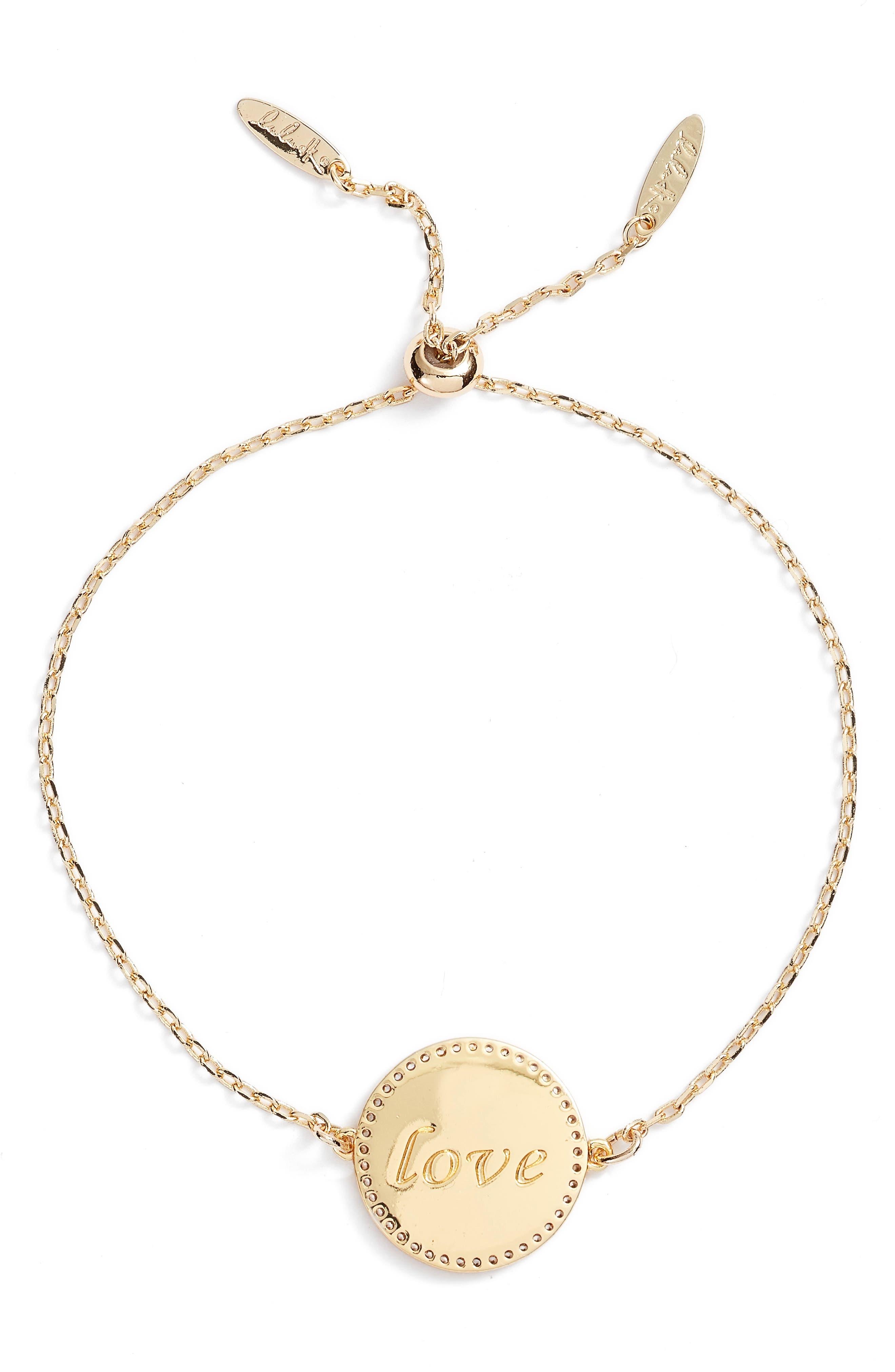 Alternate Image 3  - lulu dk Love Pendant Bracelet