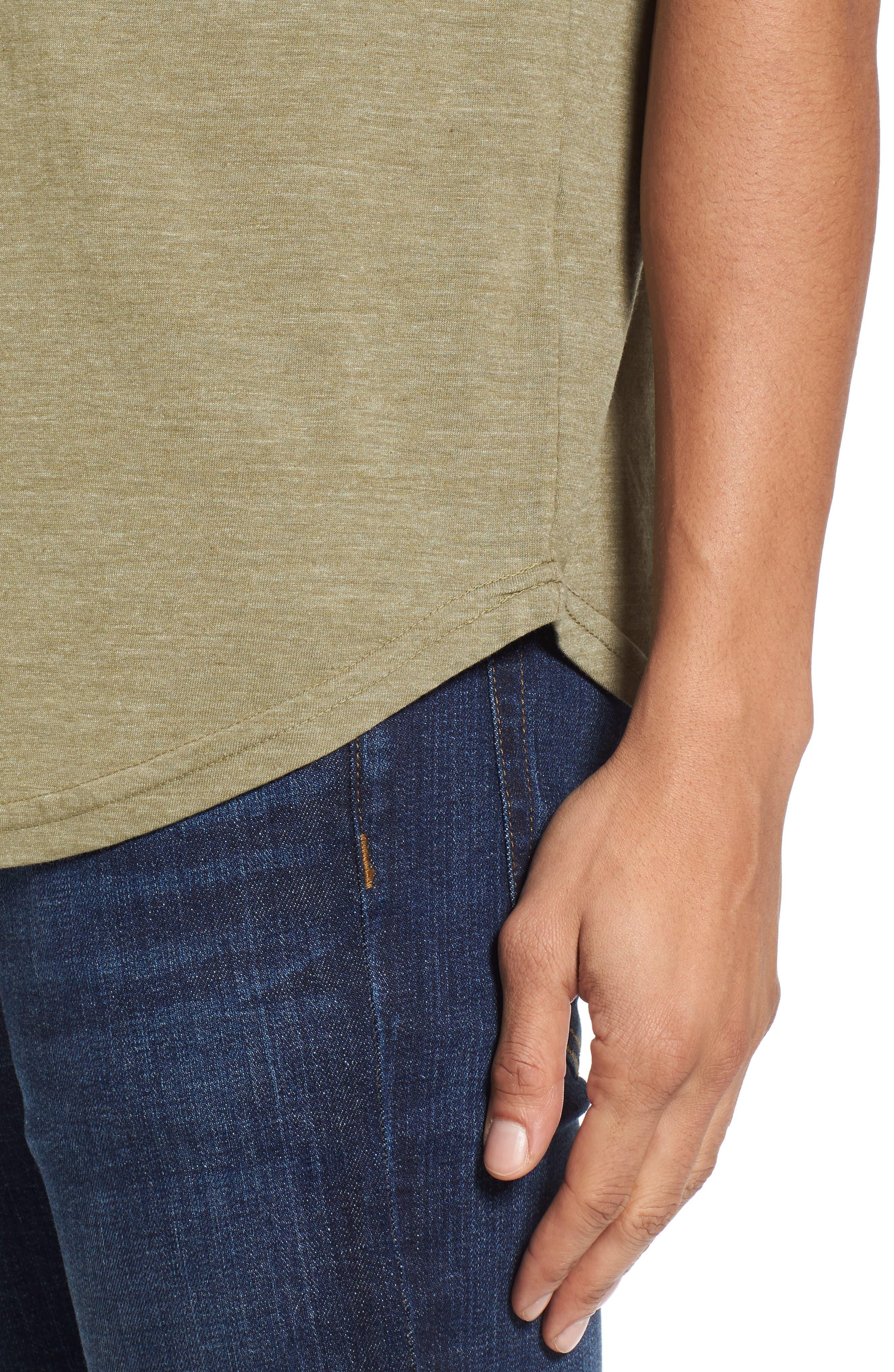 Alternate Image 4  - Goodlife Scallop Triblend V-Neck T-Shirt