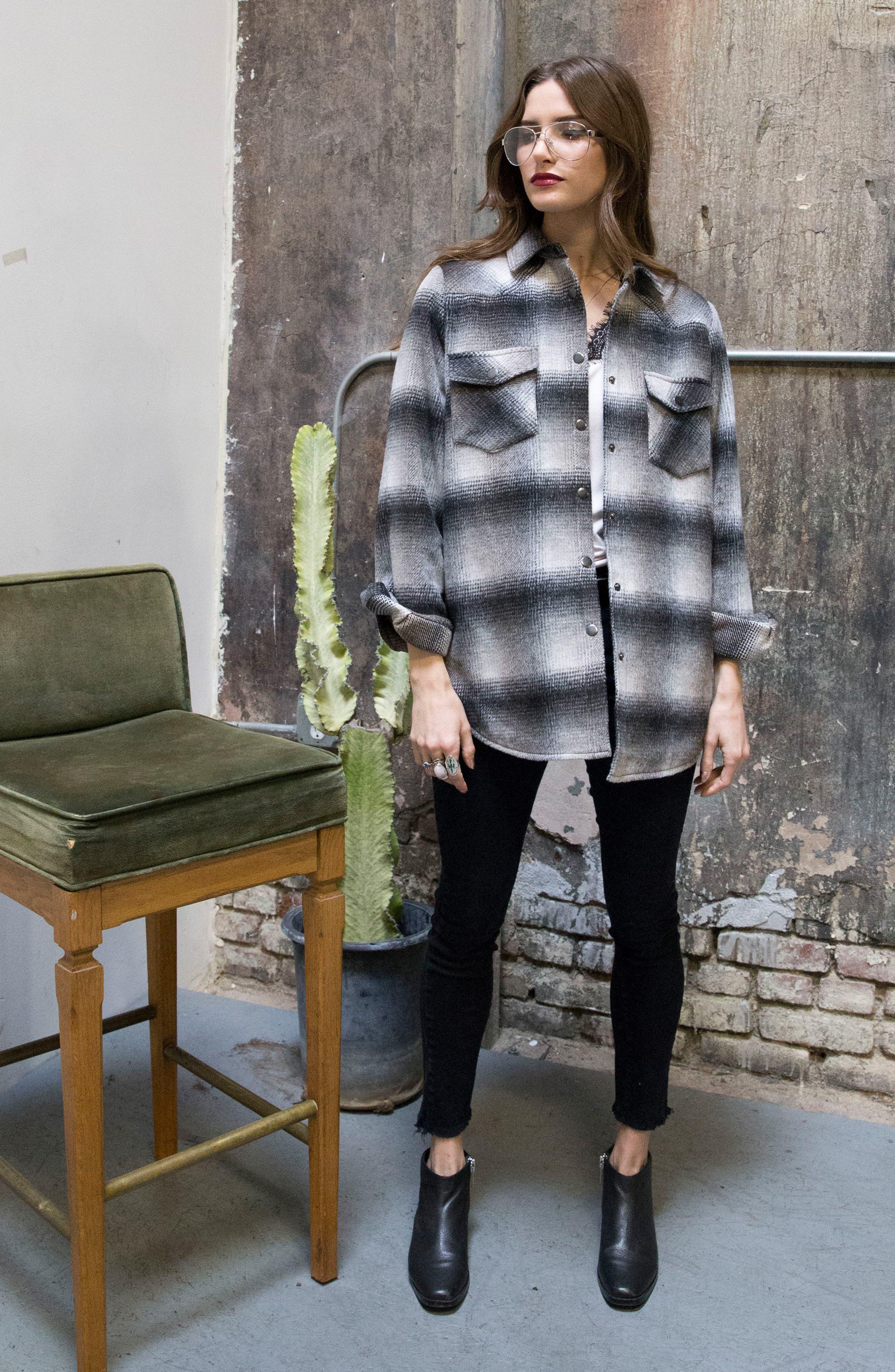 Alternate Image 11  - Lira Clothing Keegan Plaid Jacket