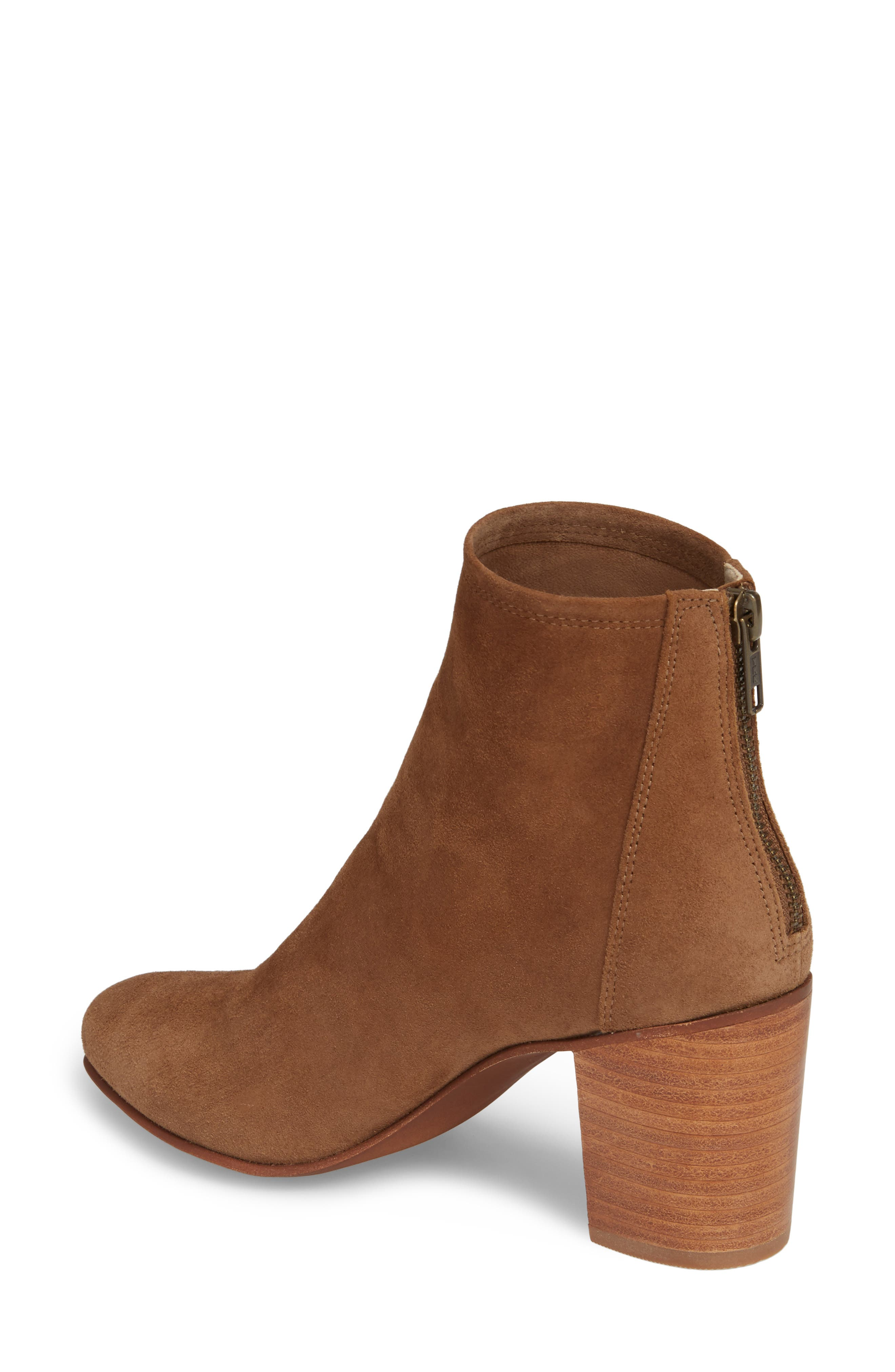 Tawny Bootie,                             Alternate thumbnail 2, color,                             Khaki Suede