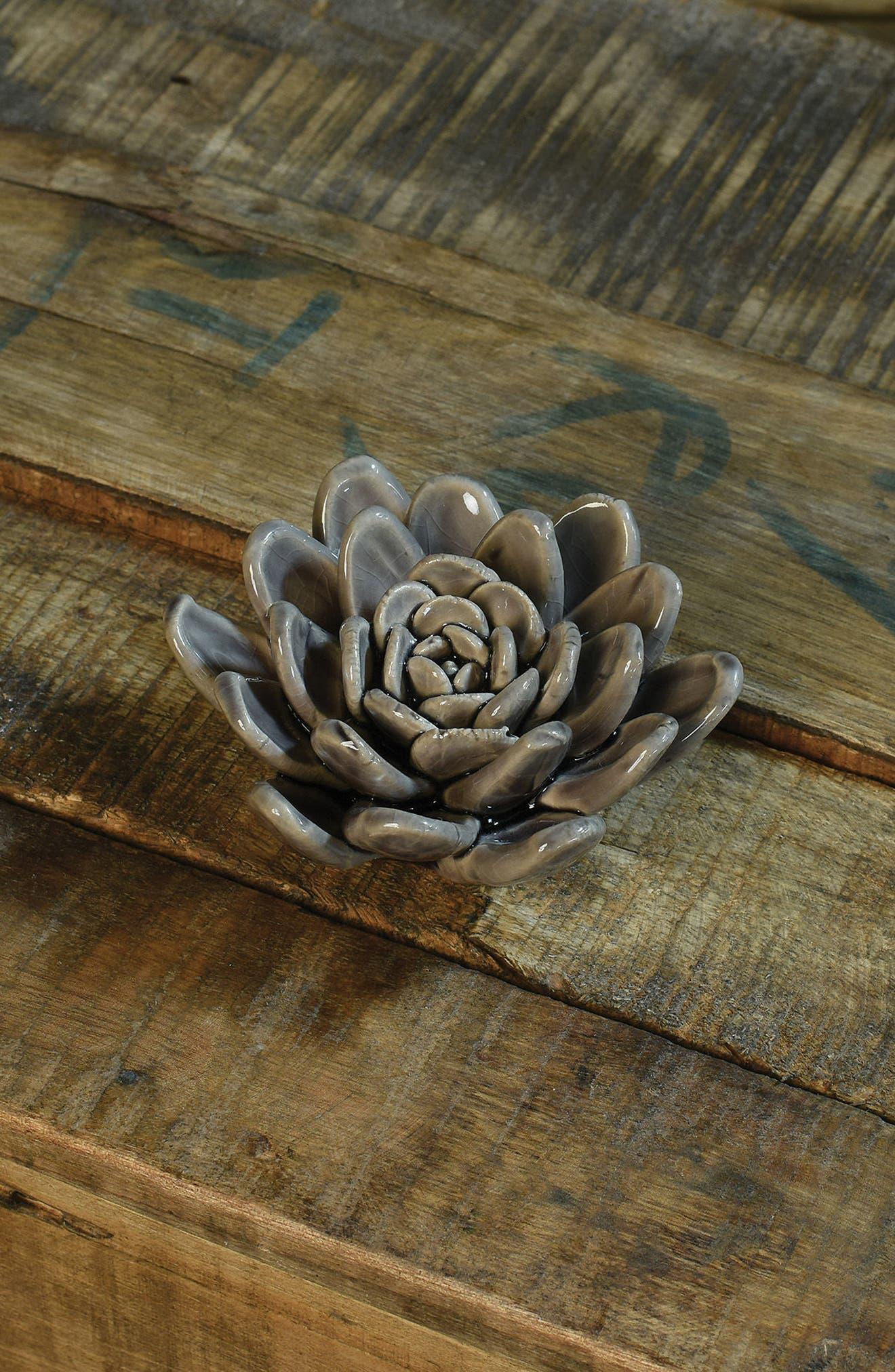Ceramic Succulent,                             Alternate thumbnail 2, color,                             Lilac