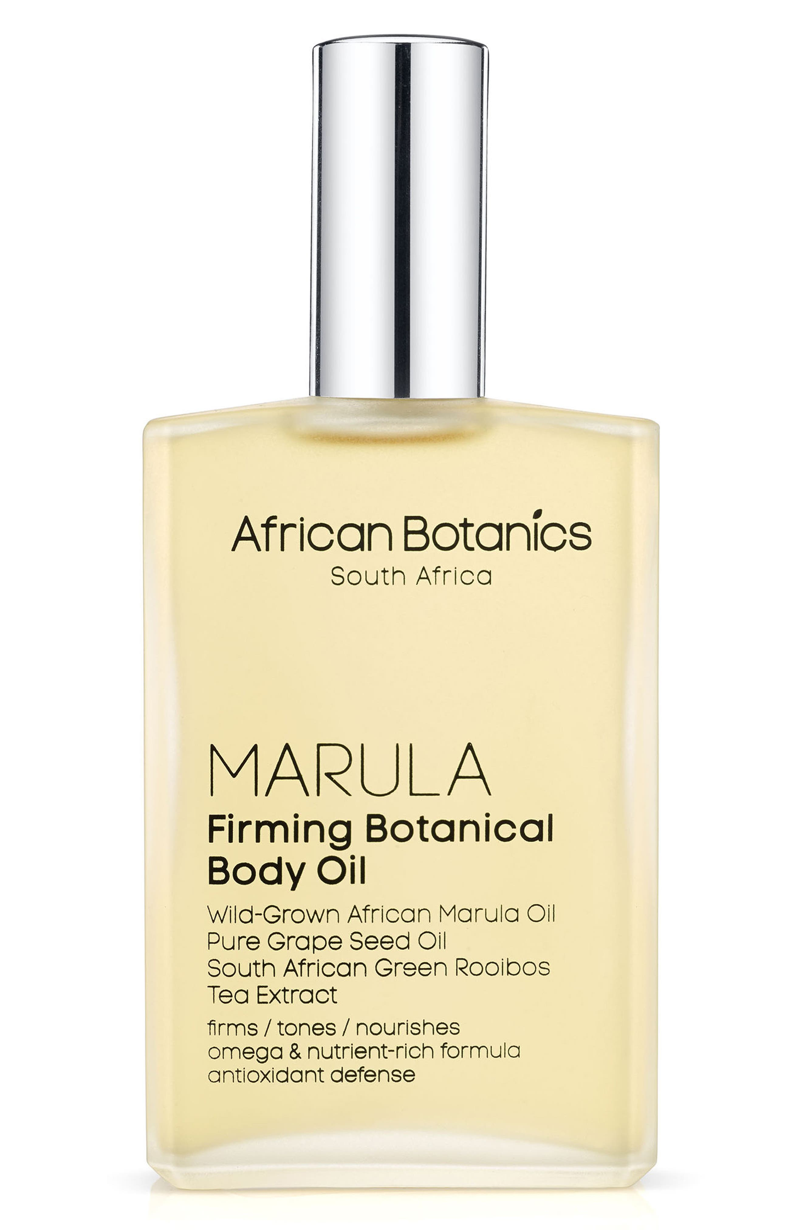 Marula Firming Botanical Body Oil,                             Main thumbnail 1, color,                             No Color