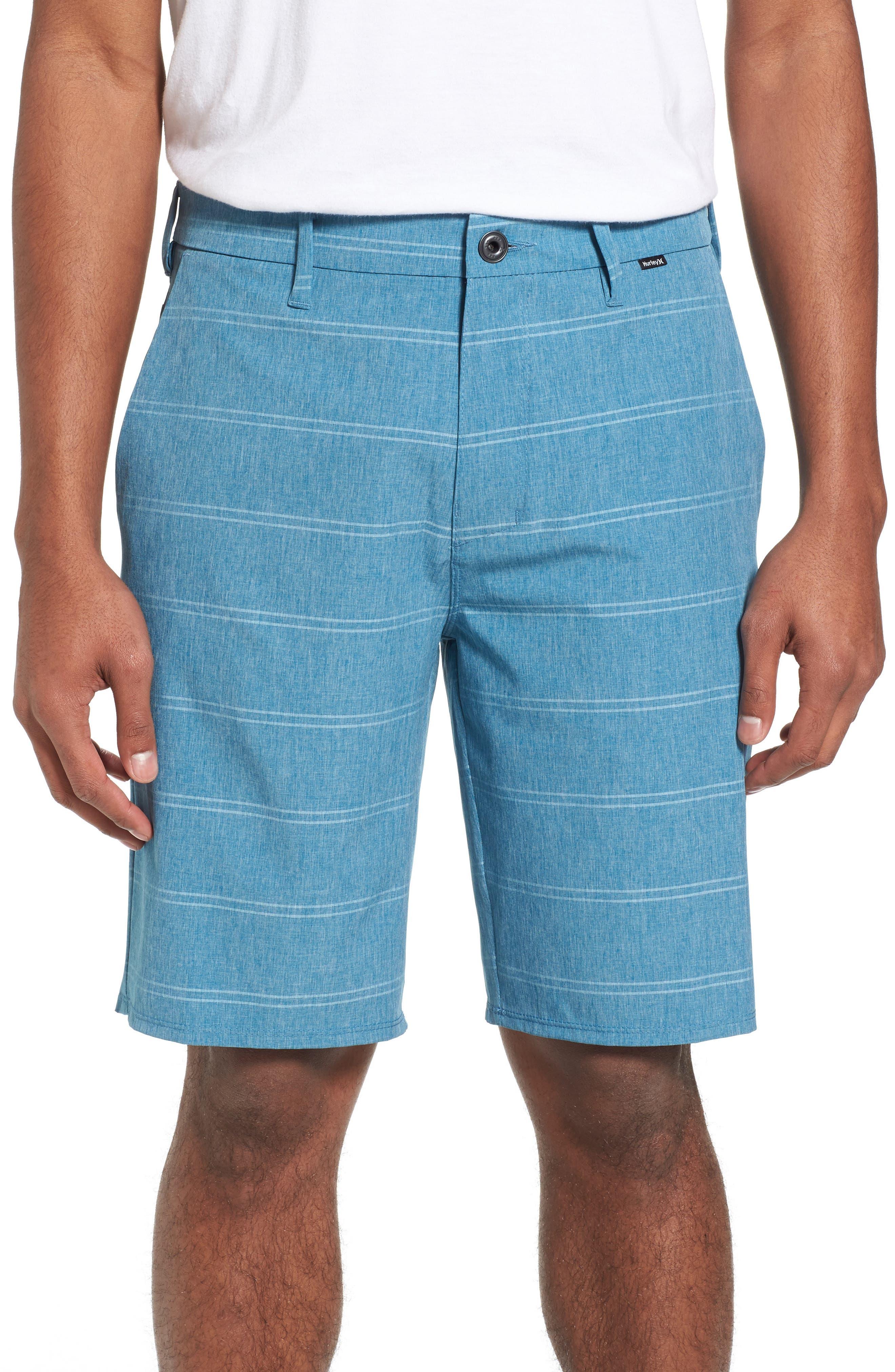 Phantom Hybrid Shorts,                             Main thumbnail 1, color,                             Space Blue