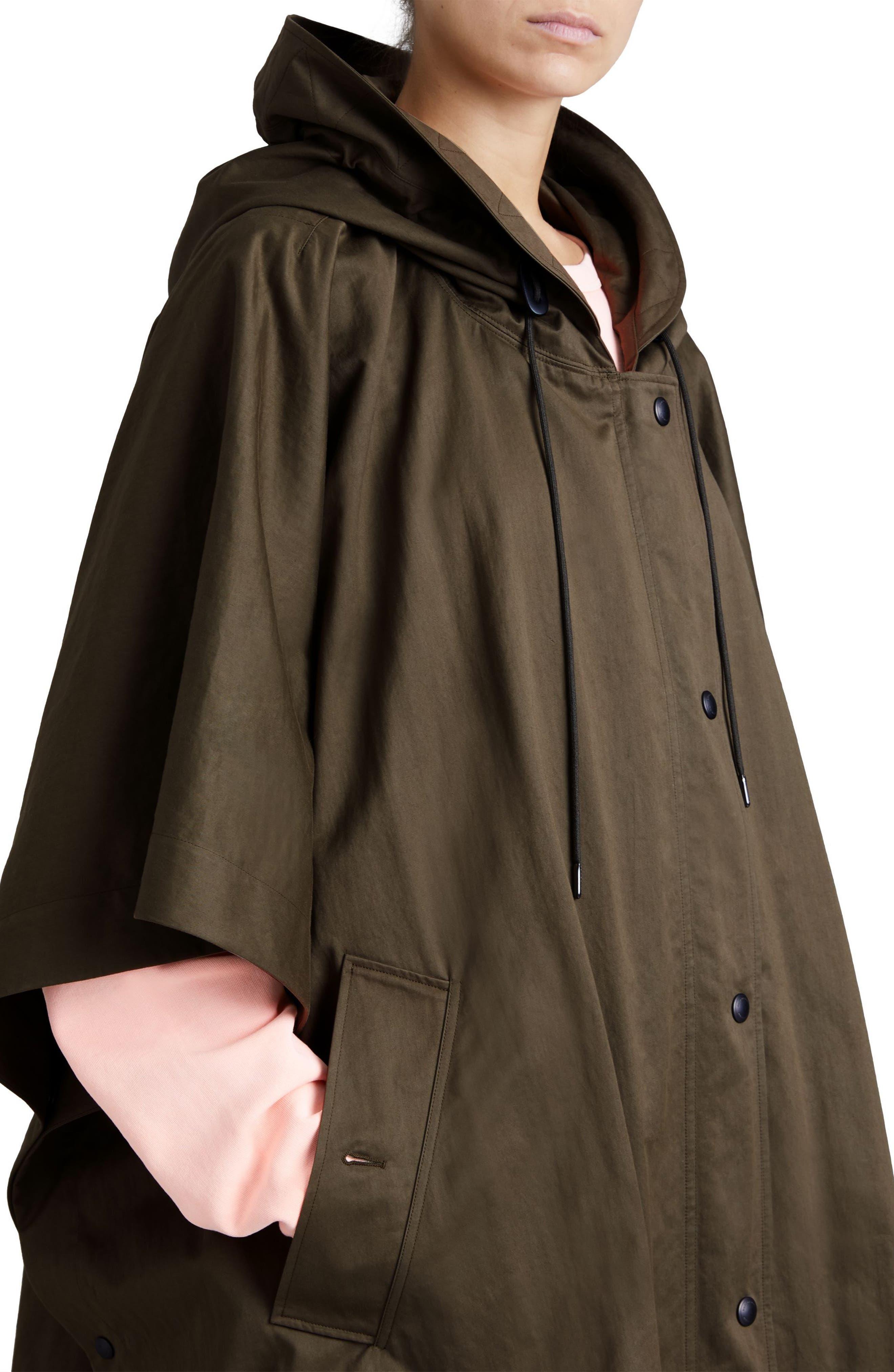 Samdale Swing Coat,                             Alternate thumbnail 6, color,                             Dark Olive