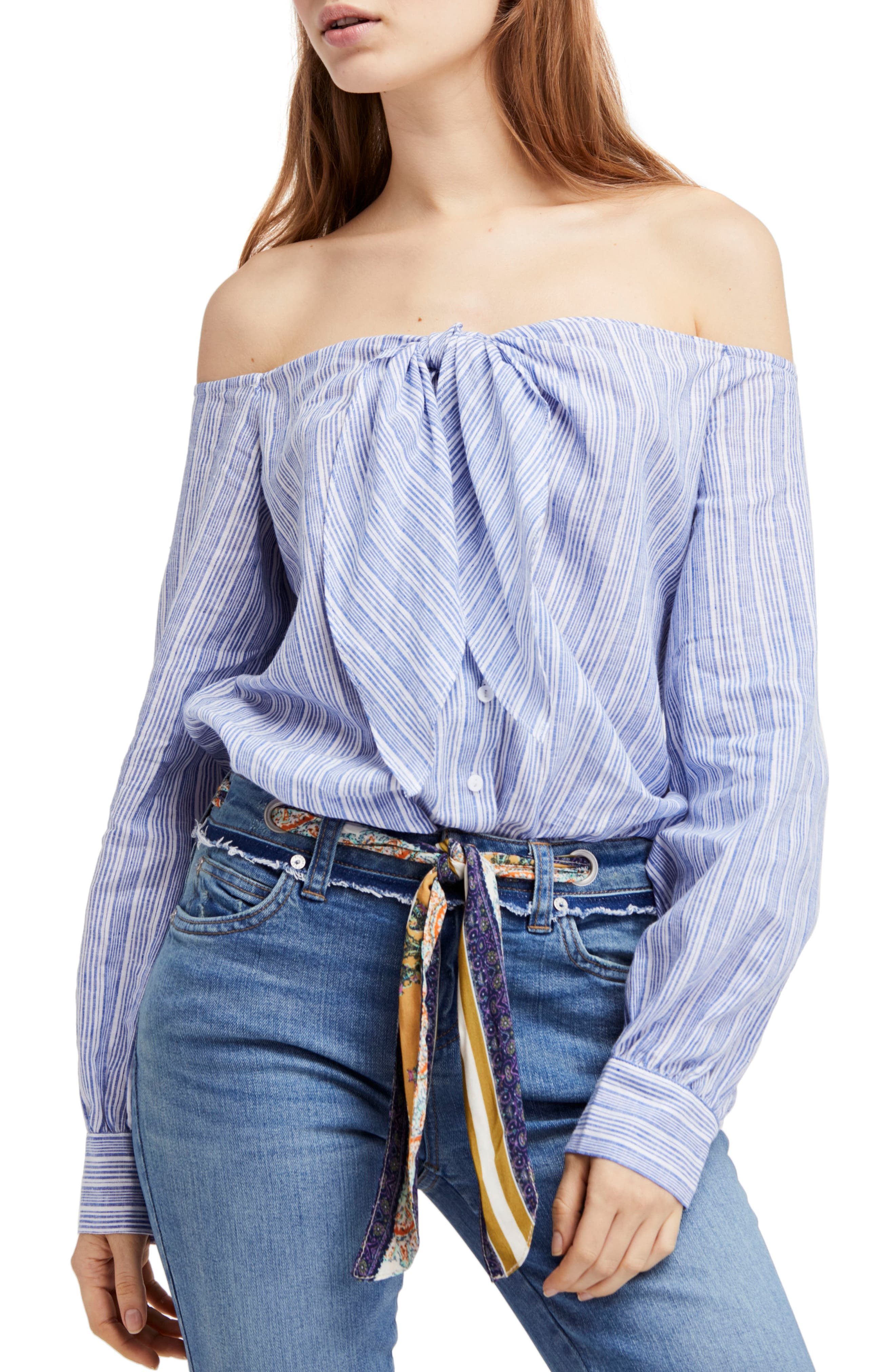 Free People Hello There Beautiful Shirt