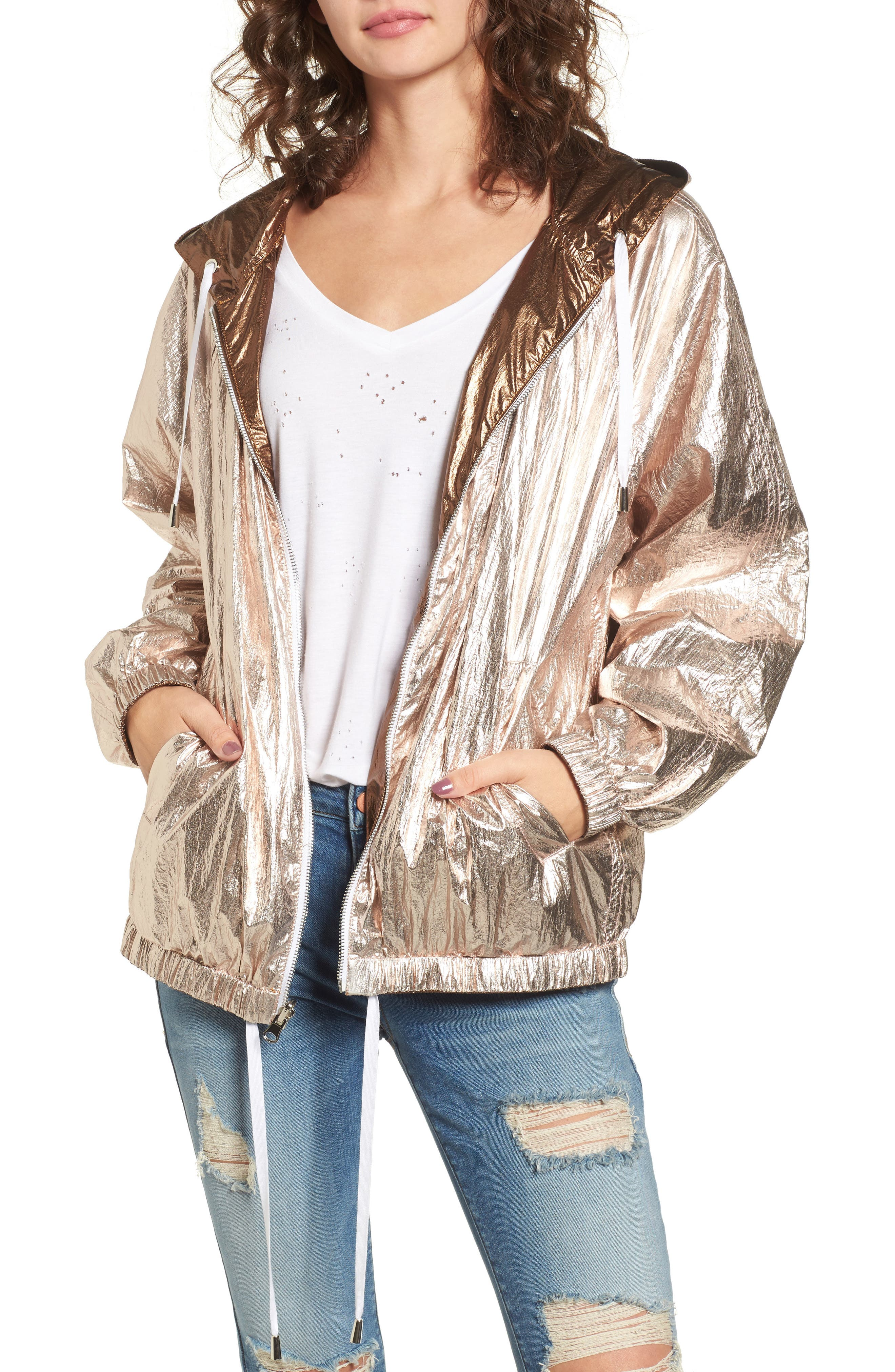 Reversible Jacket,                         Main,                         color, Good Vibrations