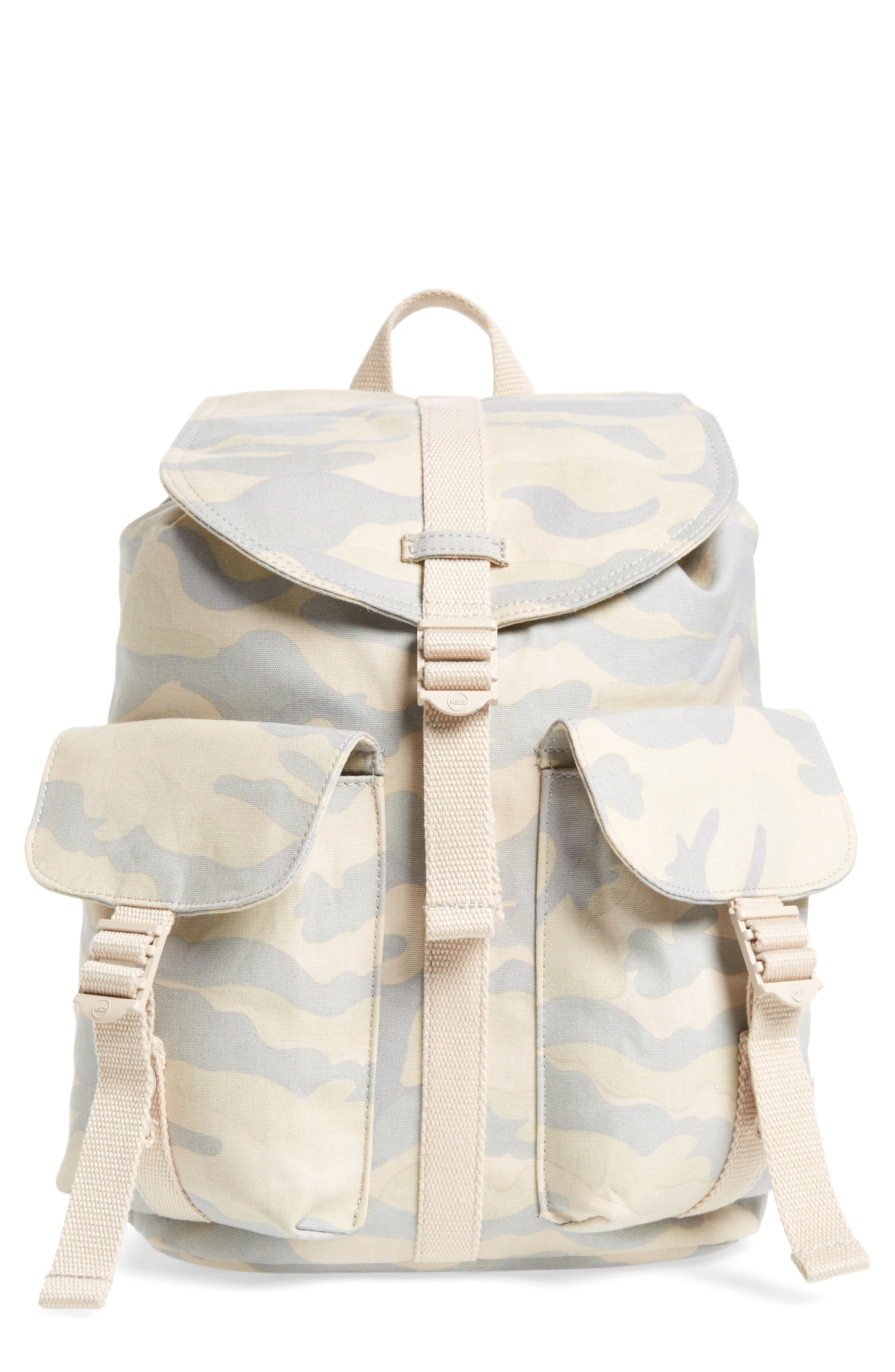 Alternate Image 1 Selected - Herschel Supply Co. X-Small Dawson Camo Canvas Backpack