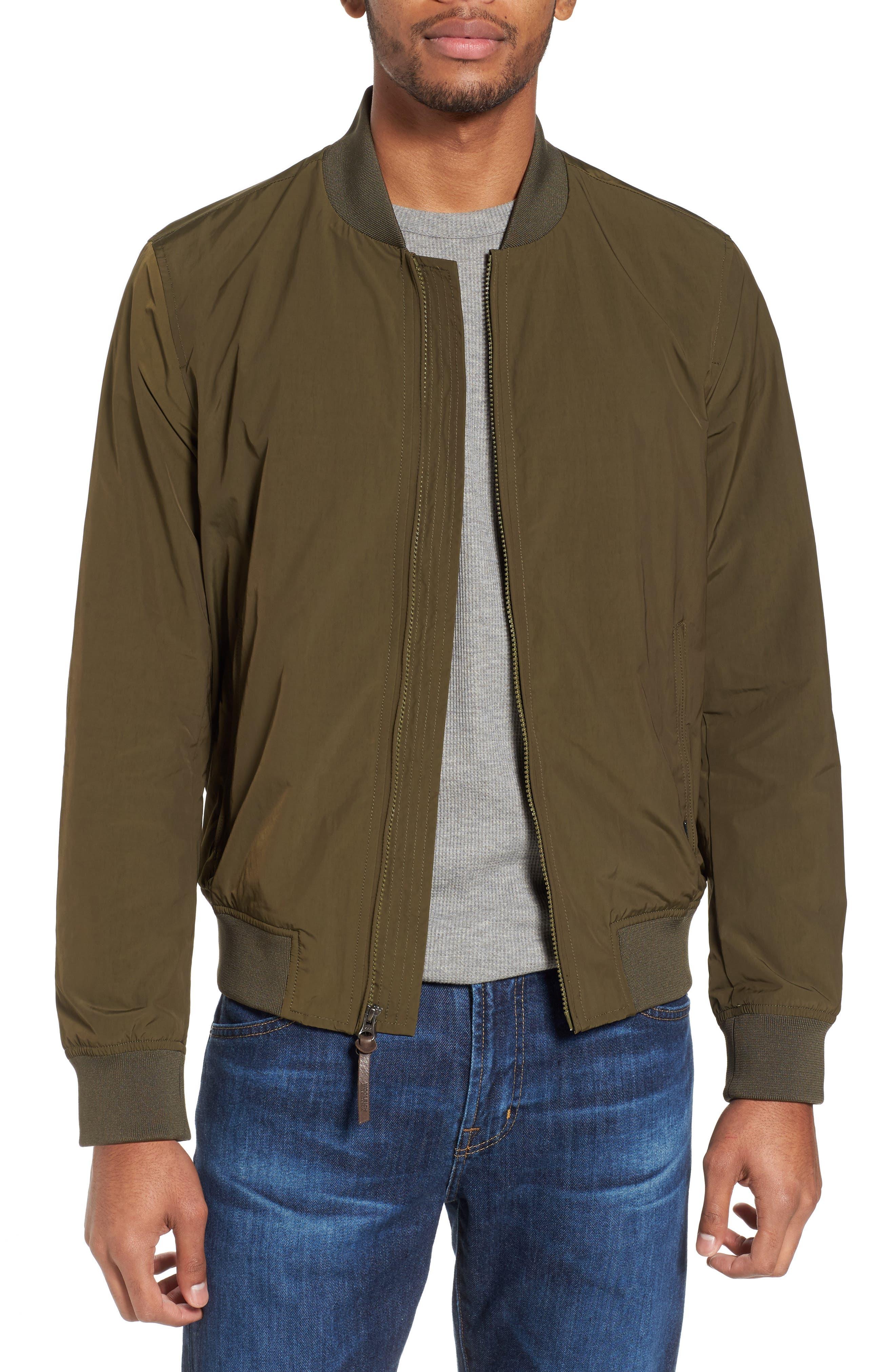 Shore Bomber Jacket,                         Main,                         color, Tenkara Green