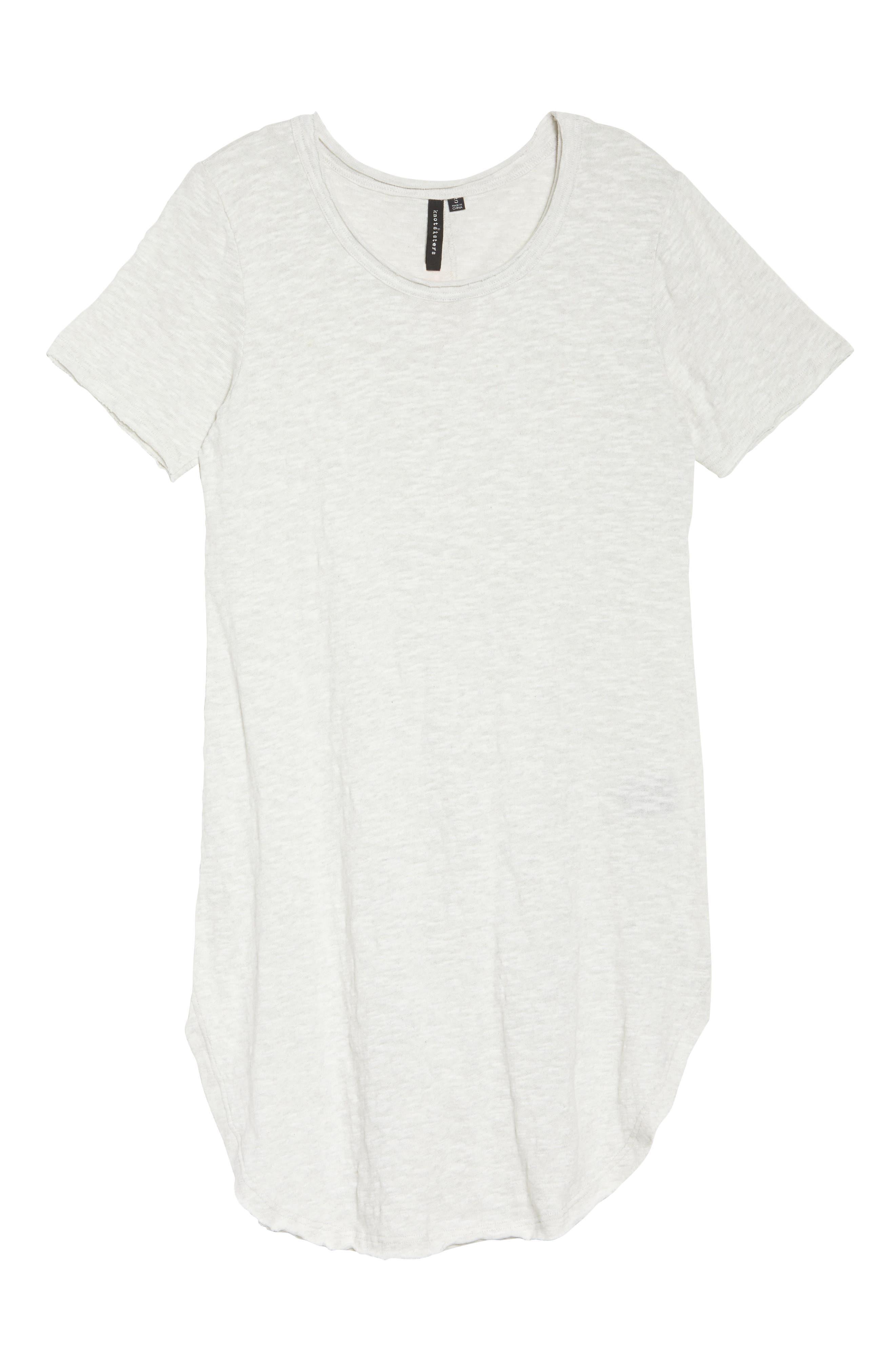 Hindi T-shirt dress,                             Alternate thumbnail 6, color,                             Cloud