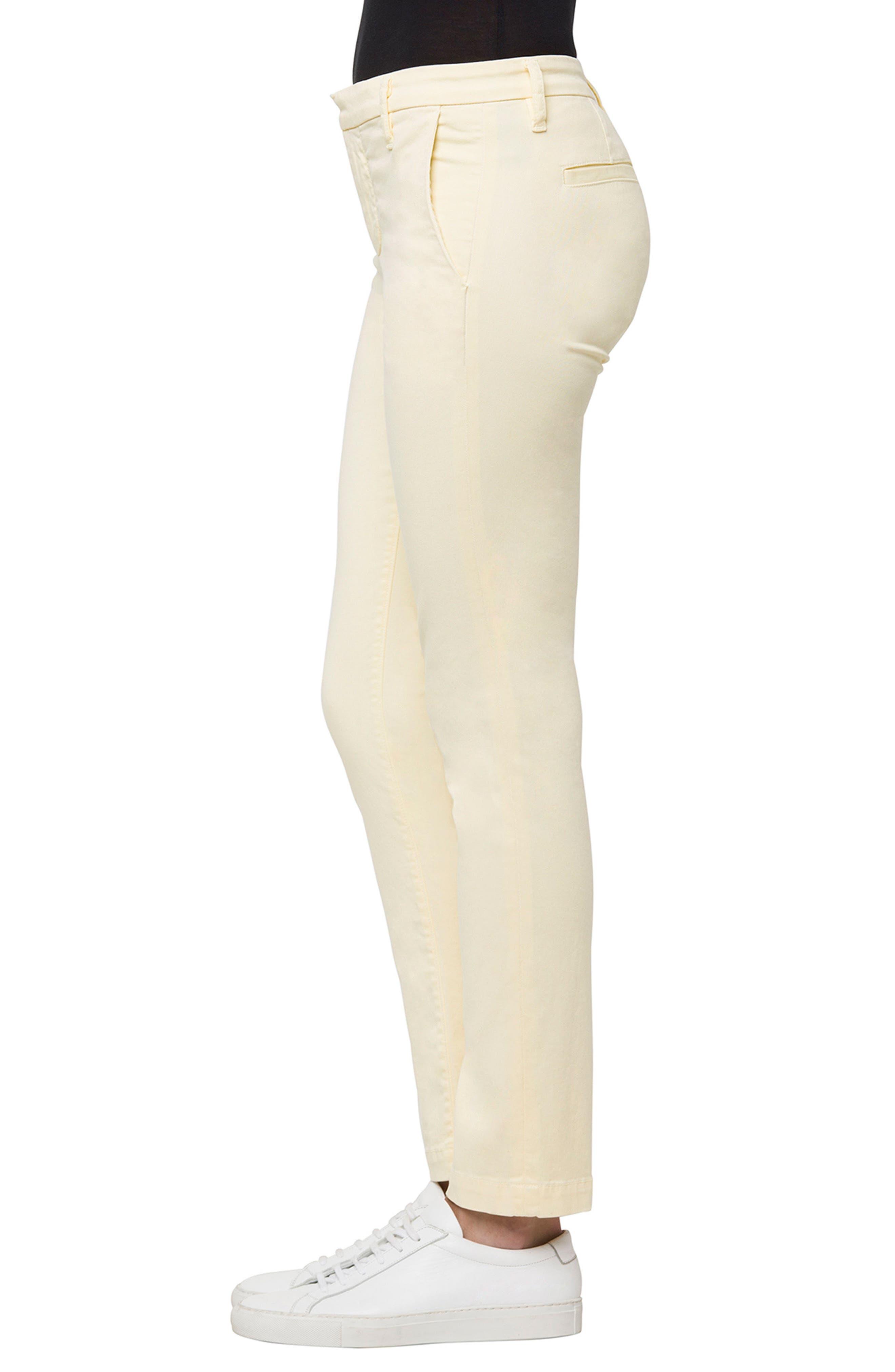 Alternate Image 3  - J Brand Clara Ankle Trousers (Butter)