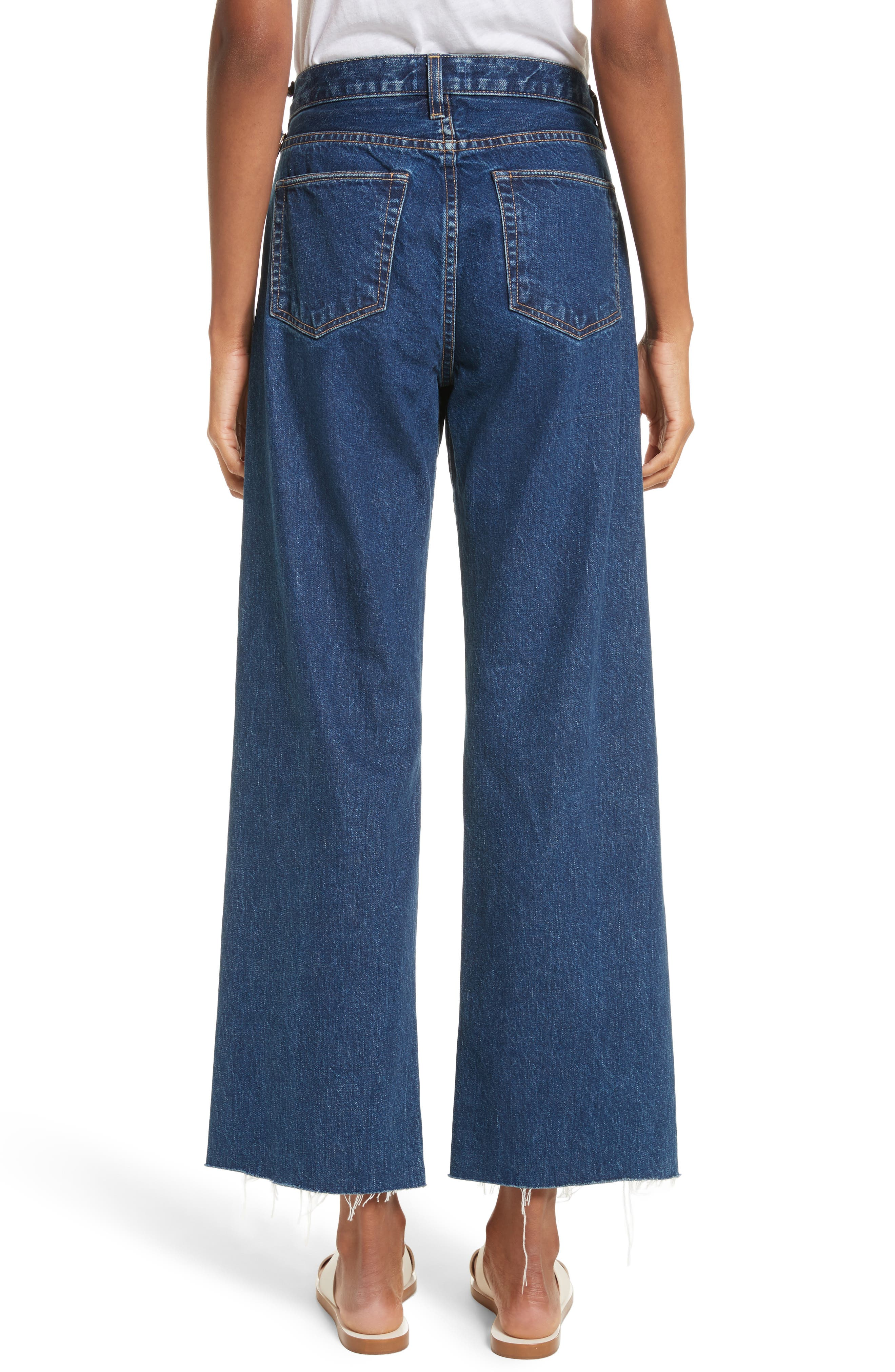 Toluca High Waist Wide Leg Jeans,                             Alternate thumbnail 2, color,                             Indigo