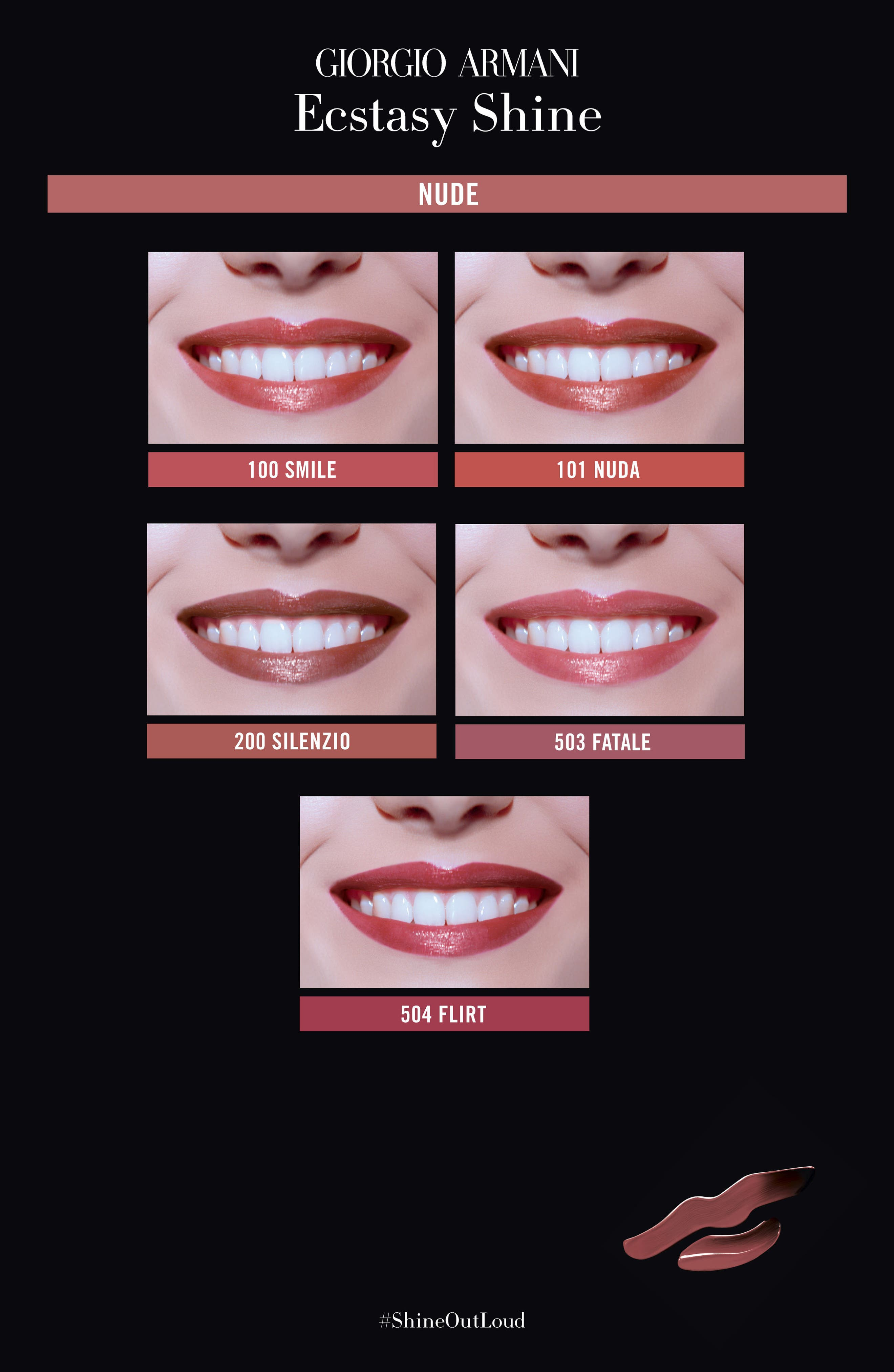 Alternate Image 4  - Giorgio Armani Ecstasy Shine Lipstick