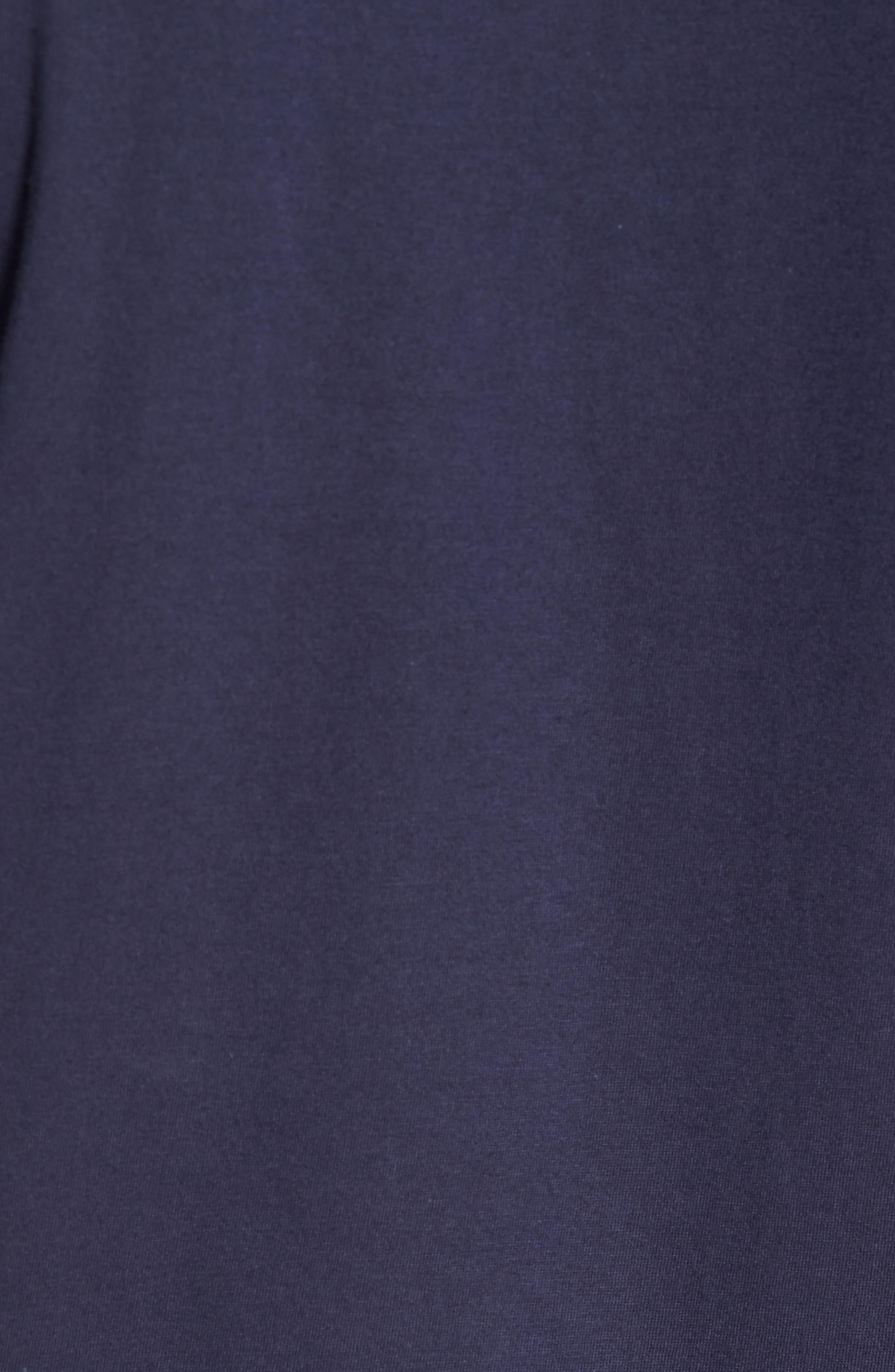 I'm So Hood T-Shirt,                             Alternate thumbnail 5, color,                             Navy Blue