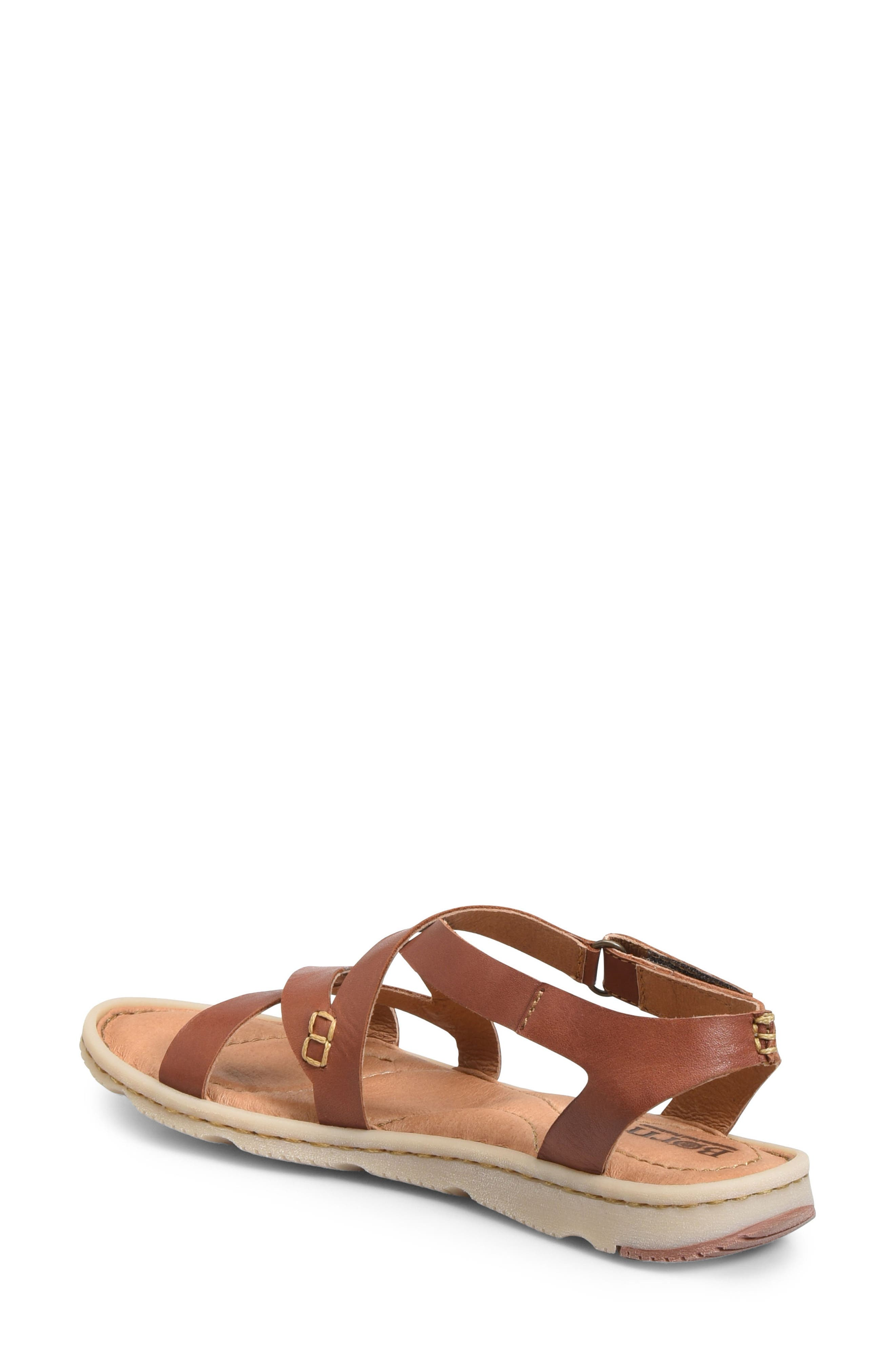 Trinidad Sandal,                             Alternate thumbnail 2, color,                             Brown Leather
