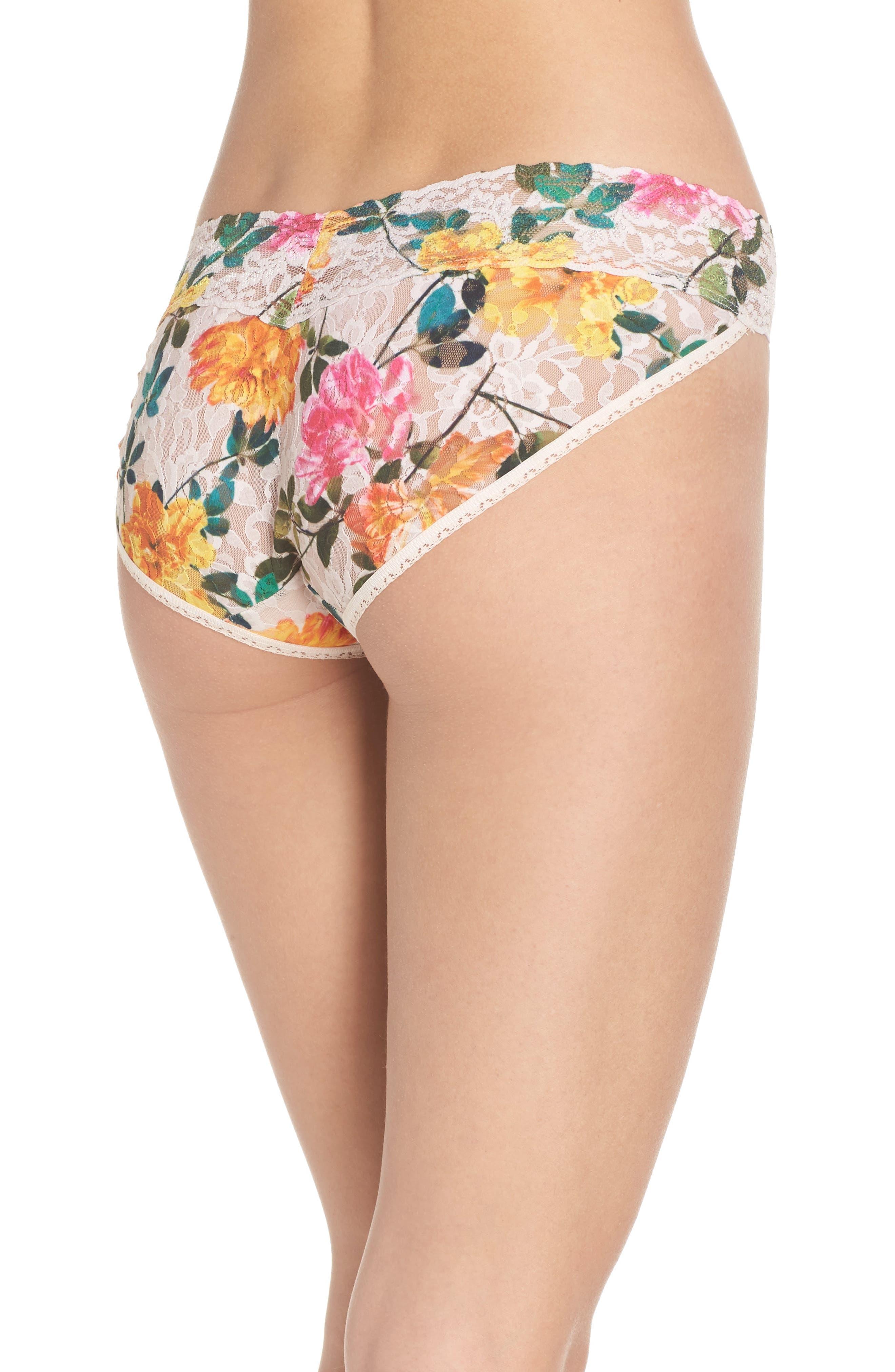 Alternate Image 2  - Hanky Panky Print V-Kini Bikini