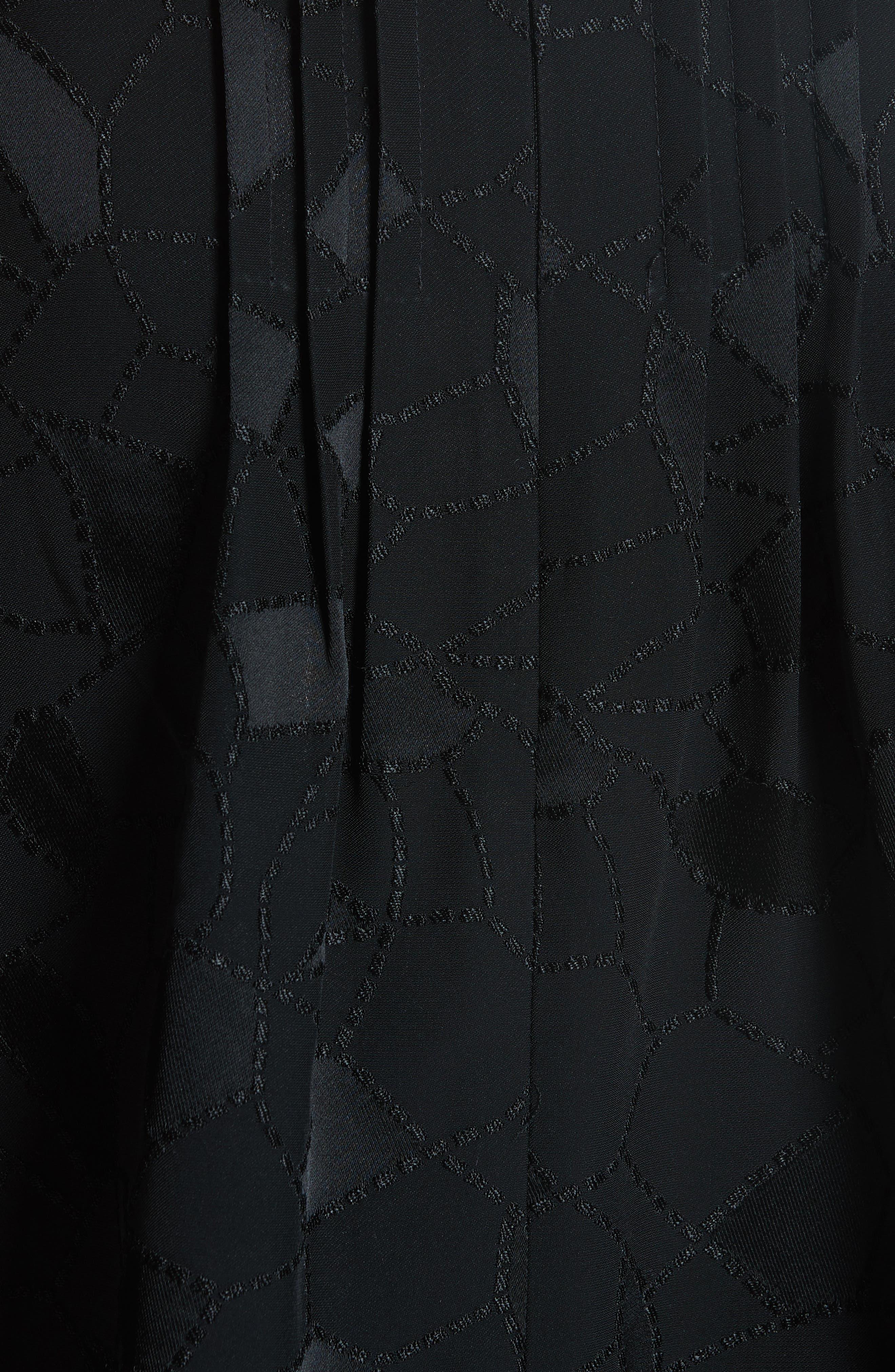 Alternate Image 5  - Co Mosaic Jacquard Puff Sleeve Blouse