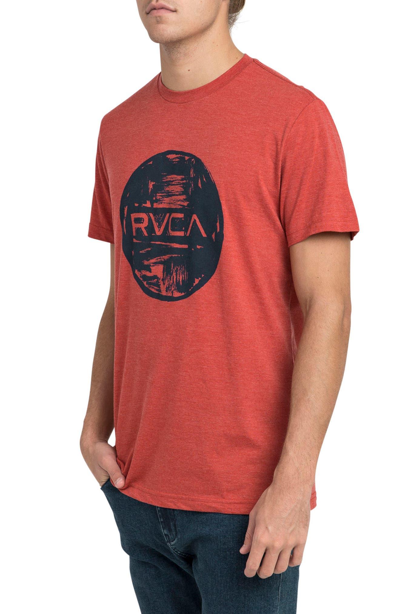 Motors Inc Logo Graphic T-Shirt,                             Alternate thumbnail 3, color,                             Pompei Red