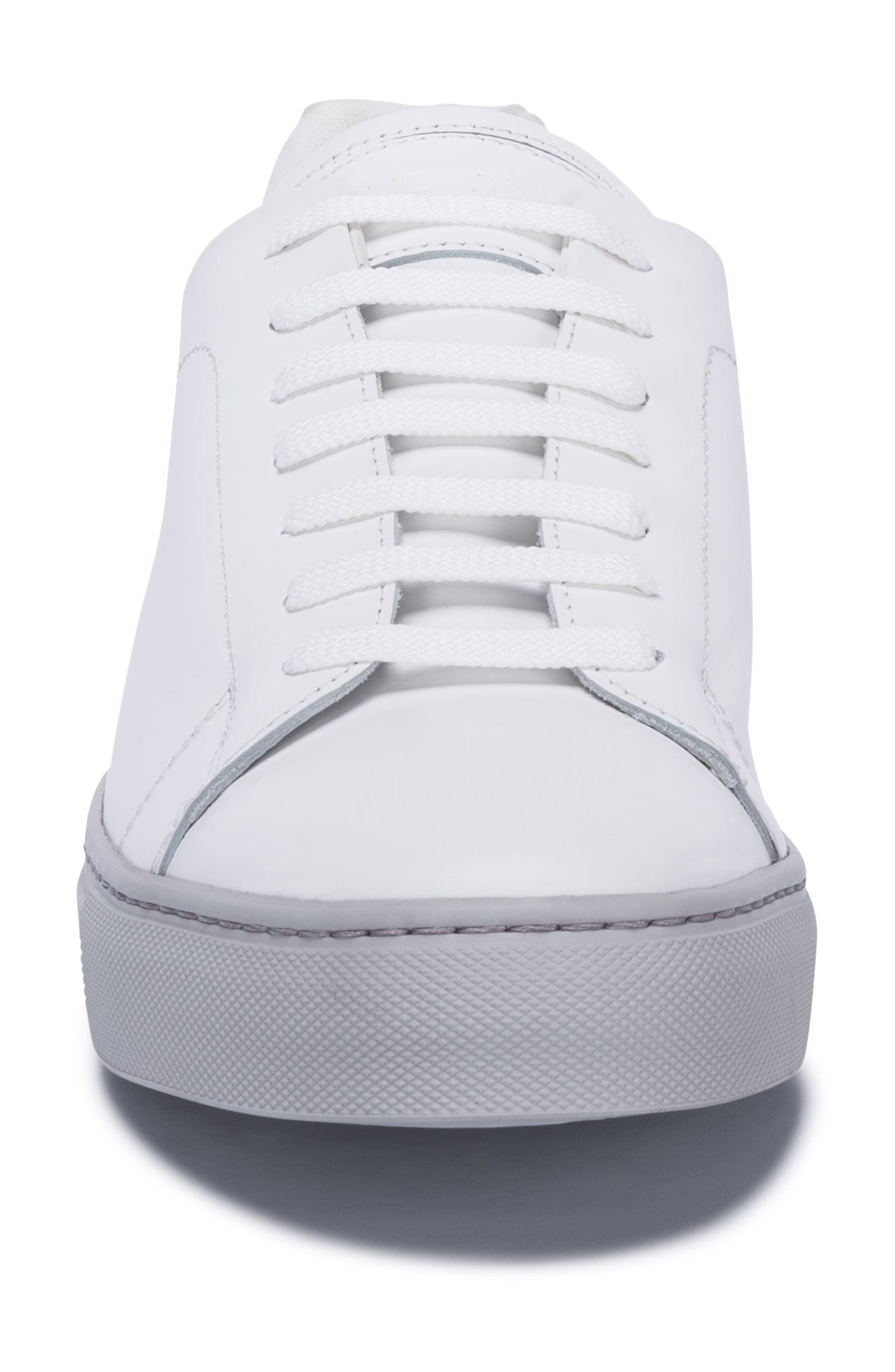 Massa Sneaker,                             Alternate thumbnail 4, color,                             Bianco Leather