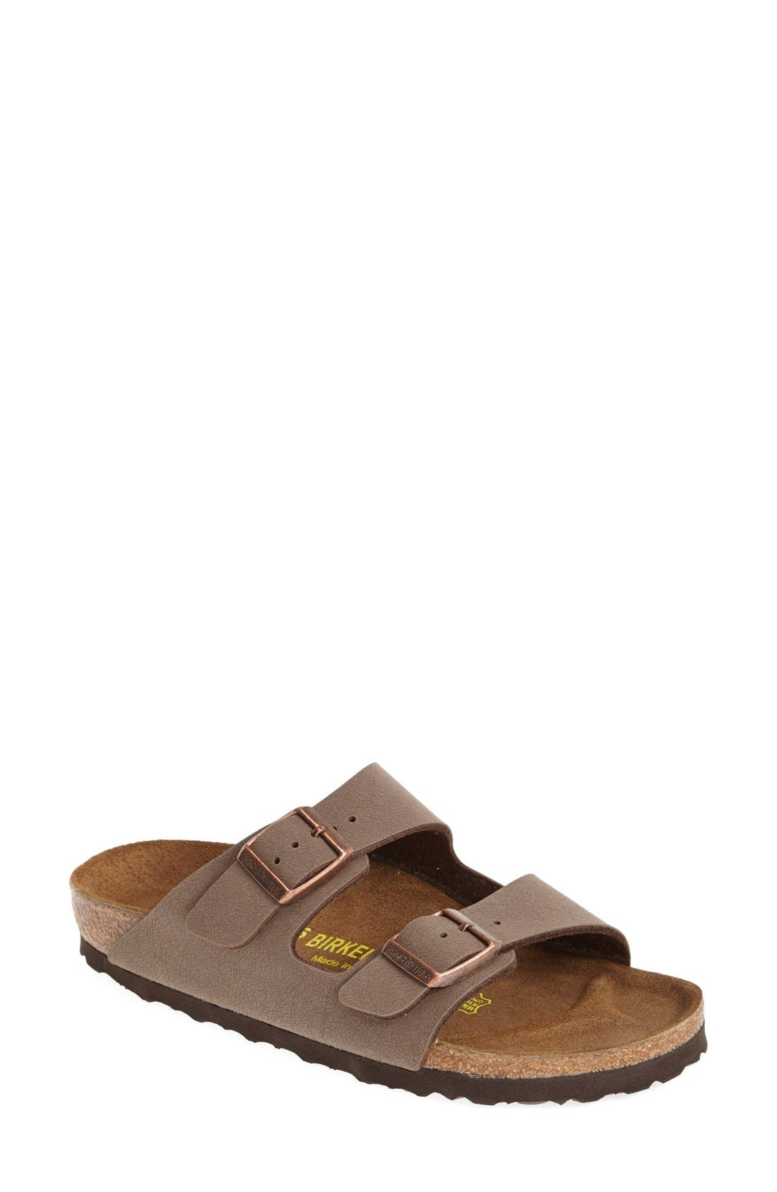 Arizona Birko-Flor Sandal,                         Main,                         color, Mocha