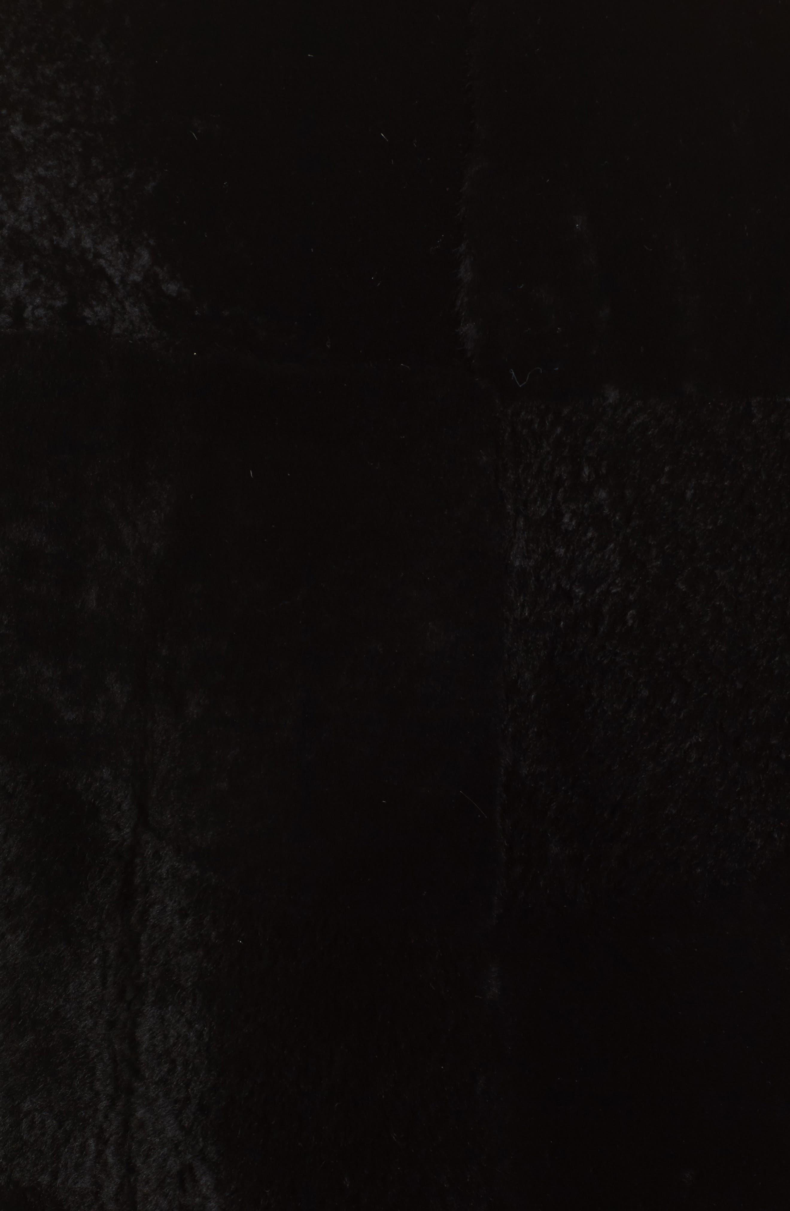 Alternate Image 5  - BOSS Sopora Long Genuine Shearling & Leather Trim Jacket
