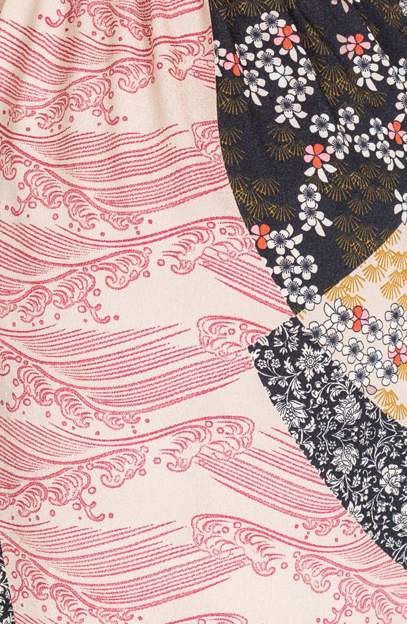 Dorothy Maternity Dress,                             Alternate thumbnail 3, color,                             Patchwork