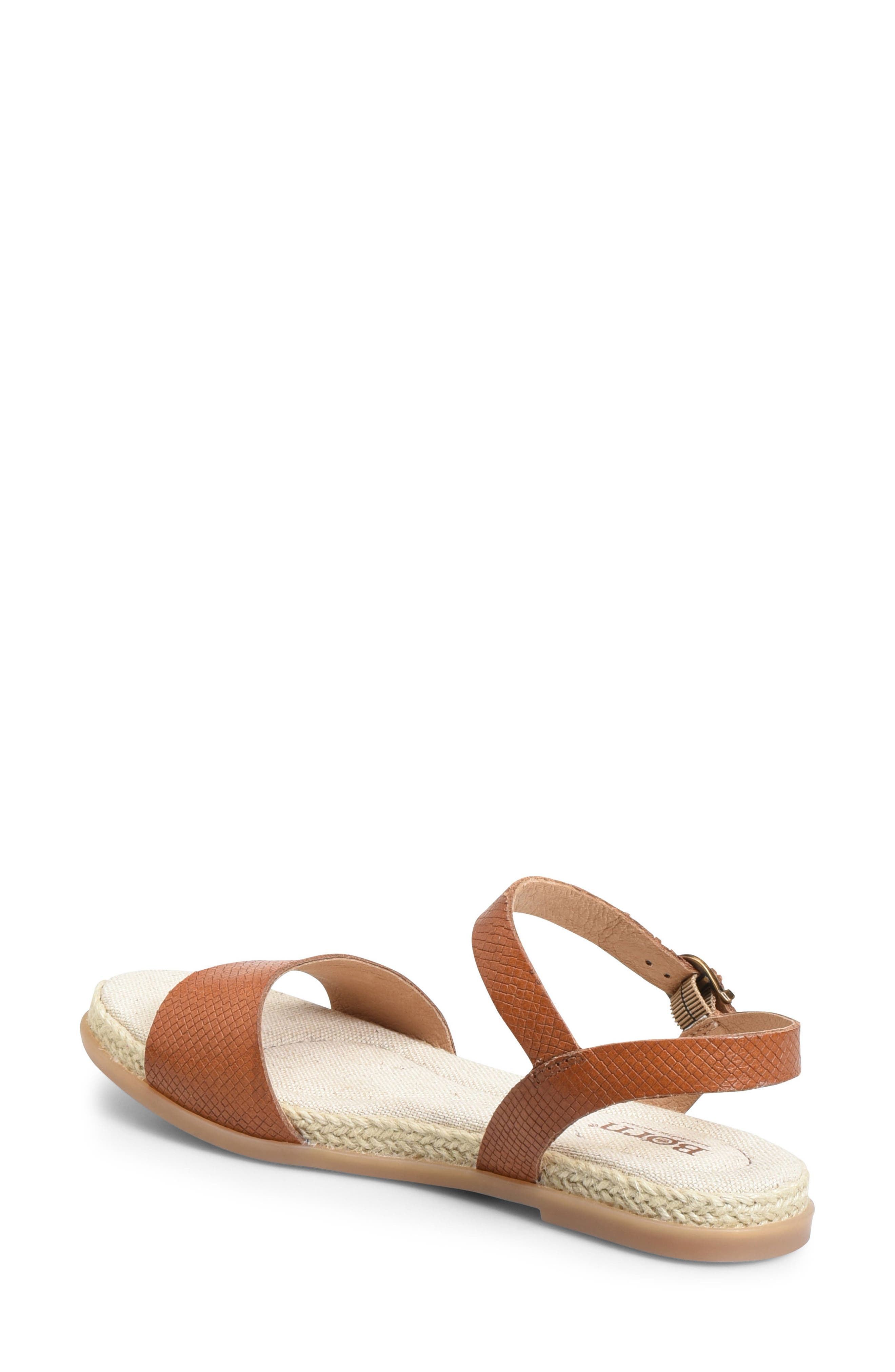 Welch Sandal,                             Alternate thumbnail 2, color,                             Brown Leather