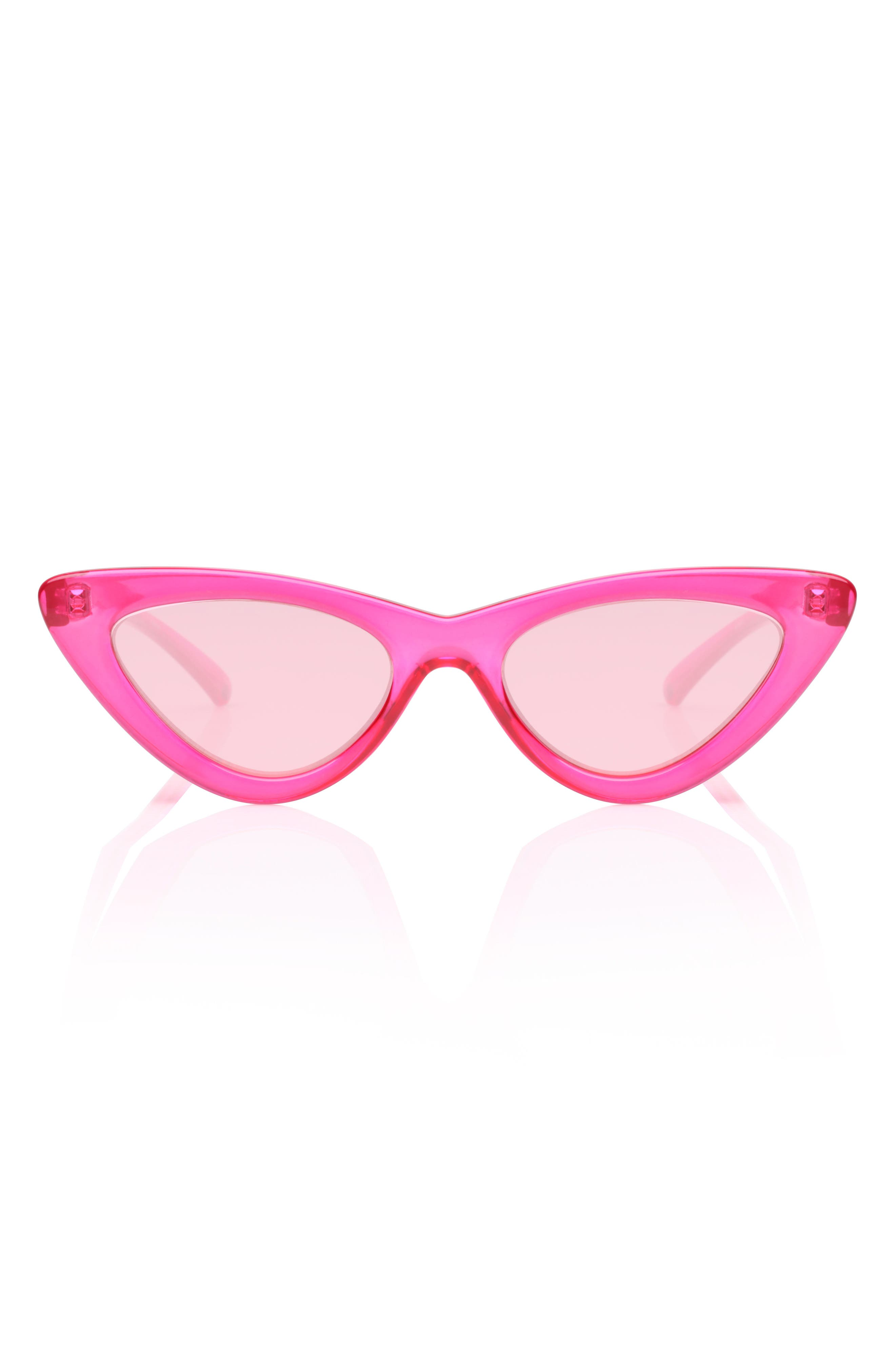 Le Specs x Adam Selman Last Lolita 49mm Cat Eye Sunglasses