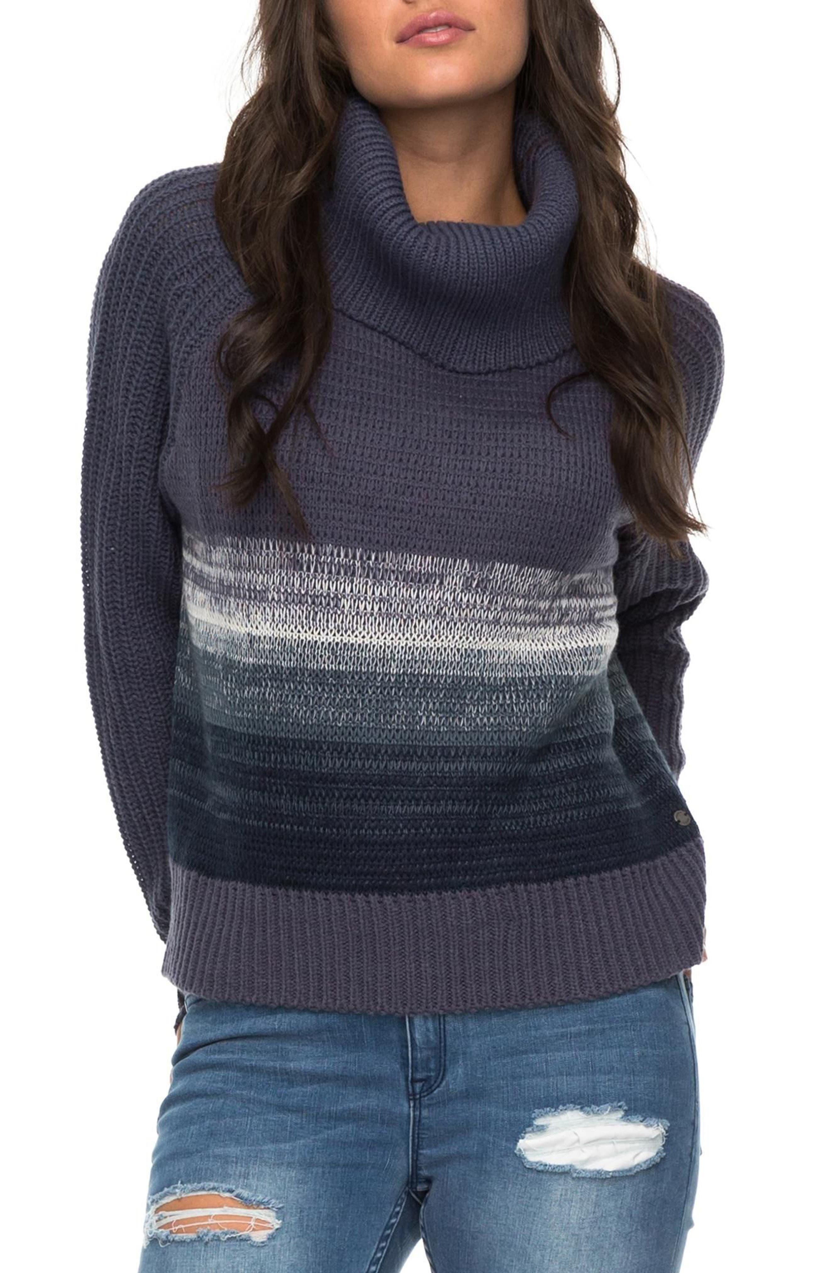 Morning Sun Sweater,                         Main,                         color, Nightshadow Blue