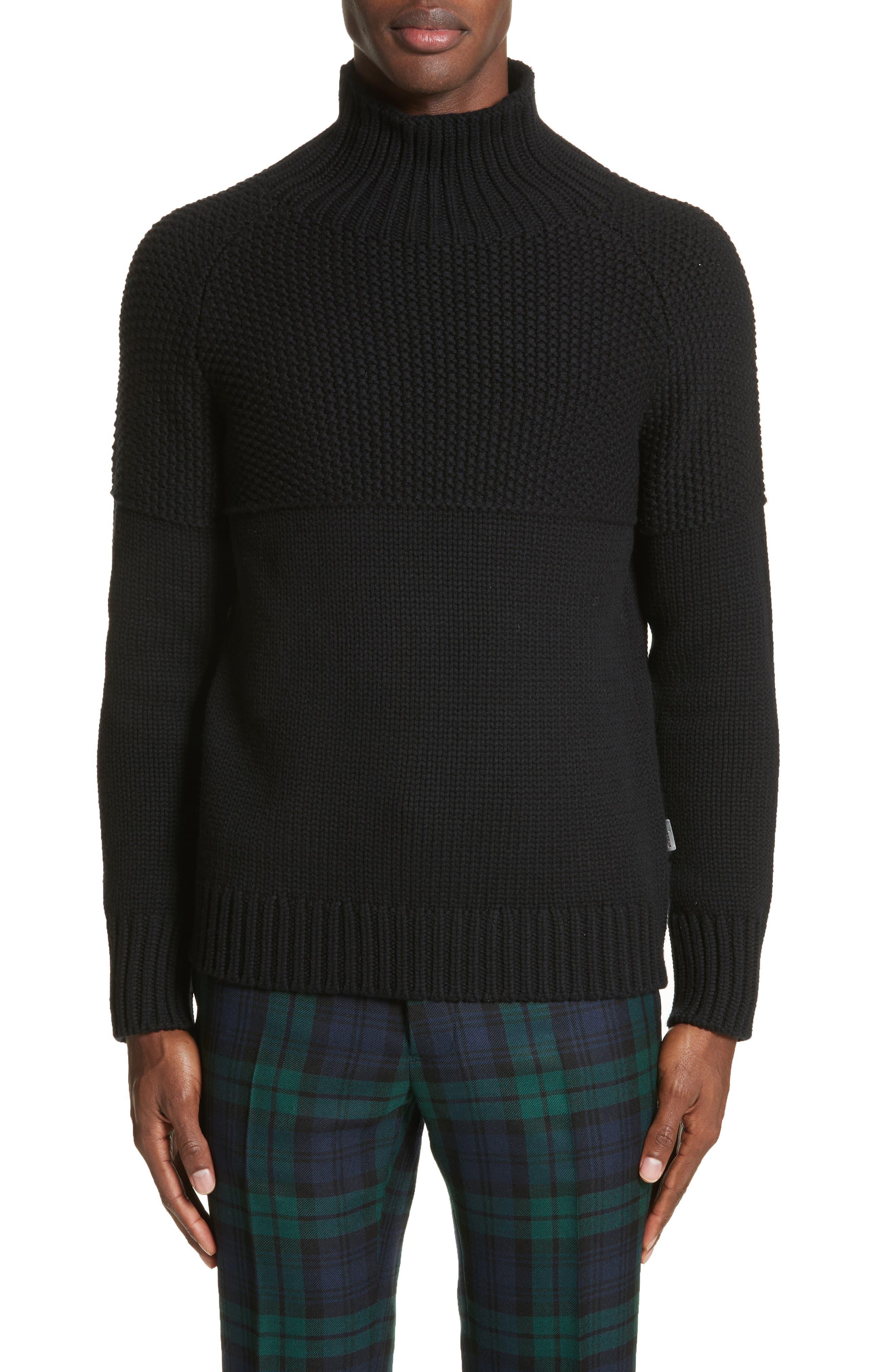 Burberry Dawson Cashmere Turtleneck Sweater