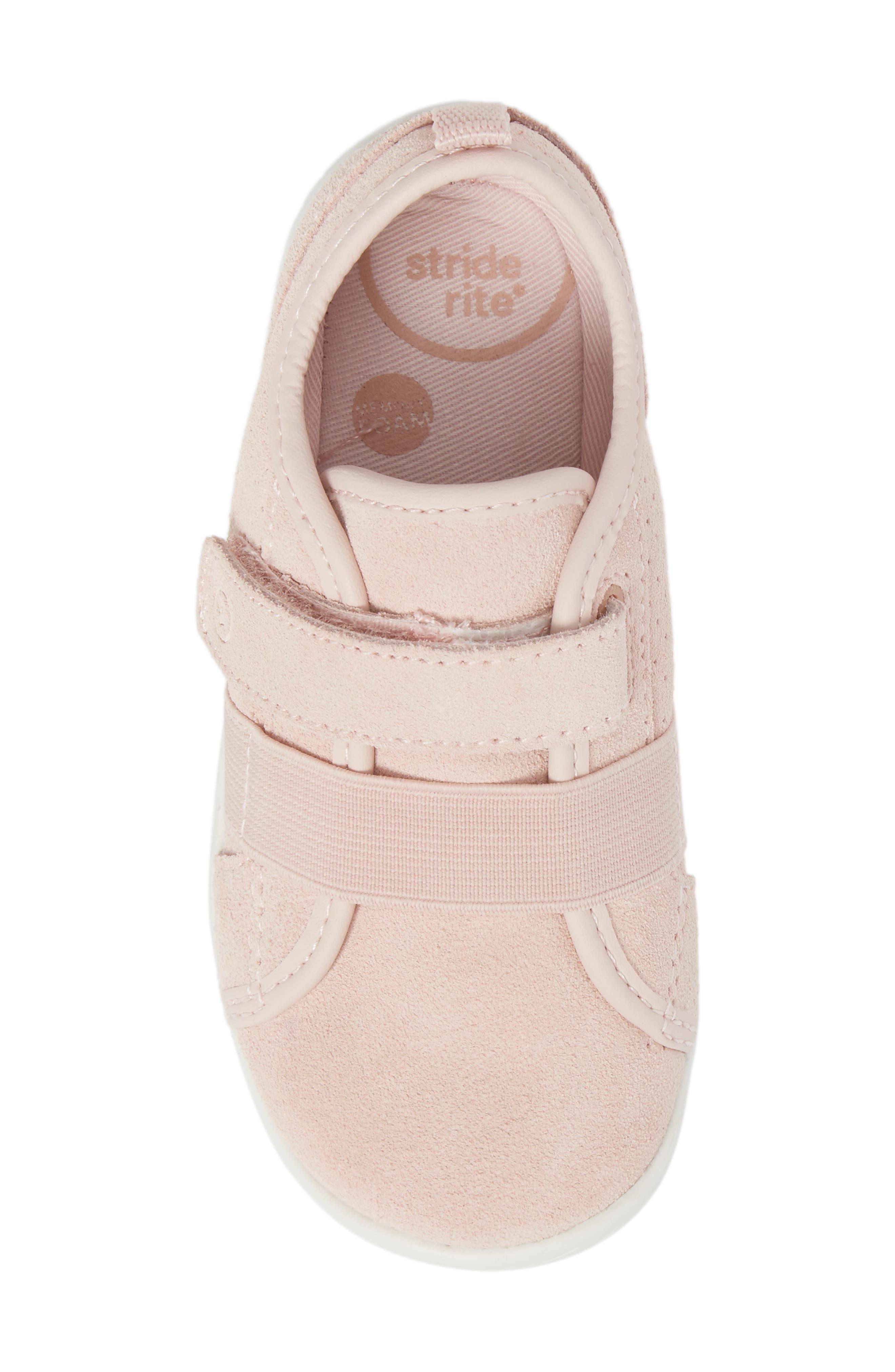SRtech<sup>™</sup> Riley Sneaker,                             Alternate thumbnail 5, color,                             Blush Leather