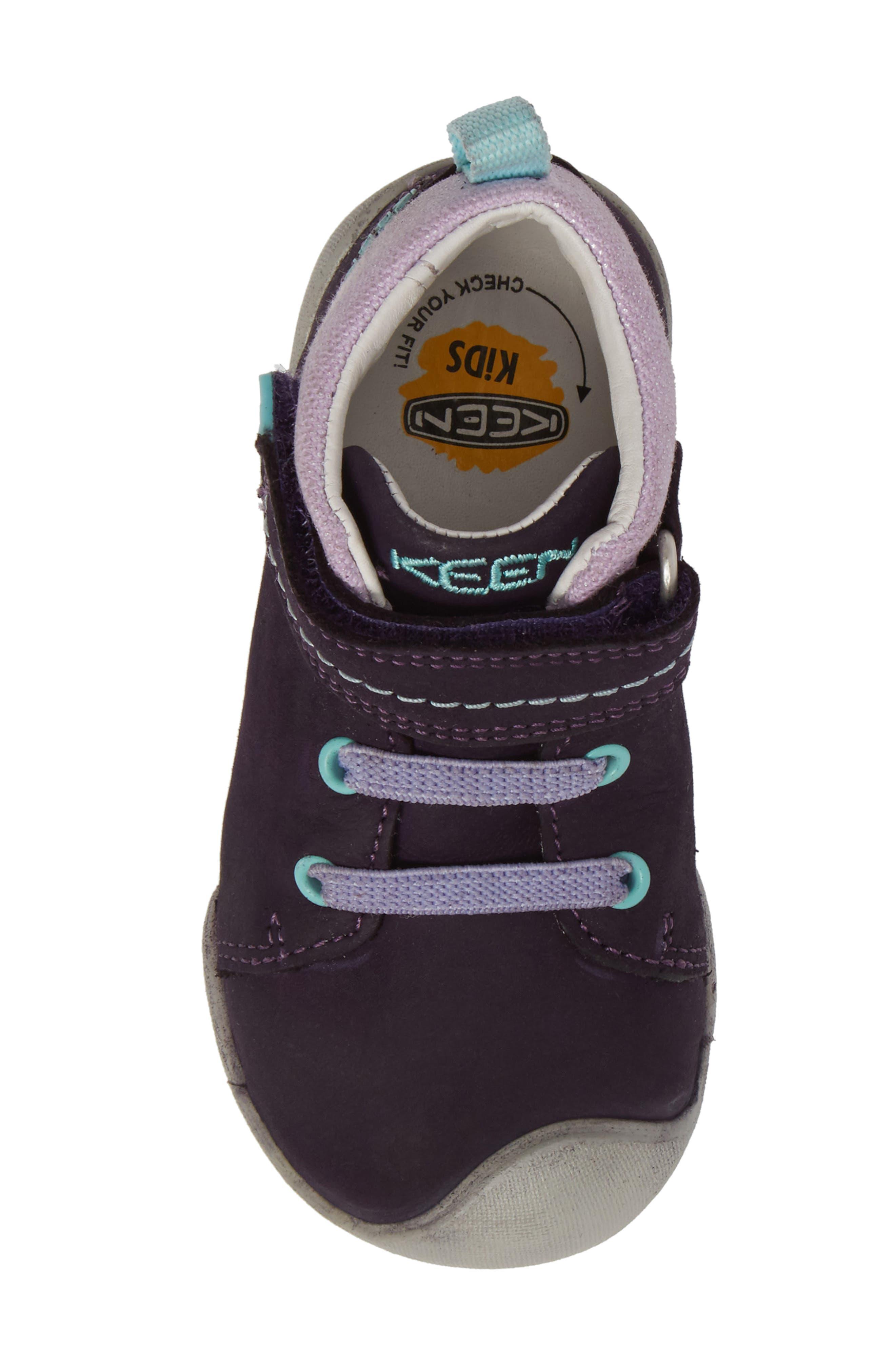 Pep Mid-T Sneaker,                             Alternate thumbnail 5, color,                             Plumeria/ Sweet Lavendar