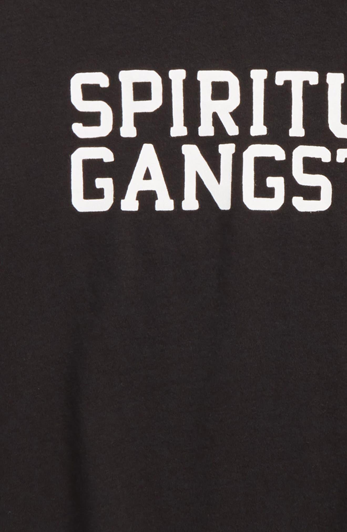 Alternate Image 2  - Spiritual Gangster Varsity Logo T-Shirt (Big Boys)
