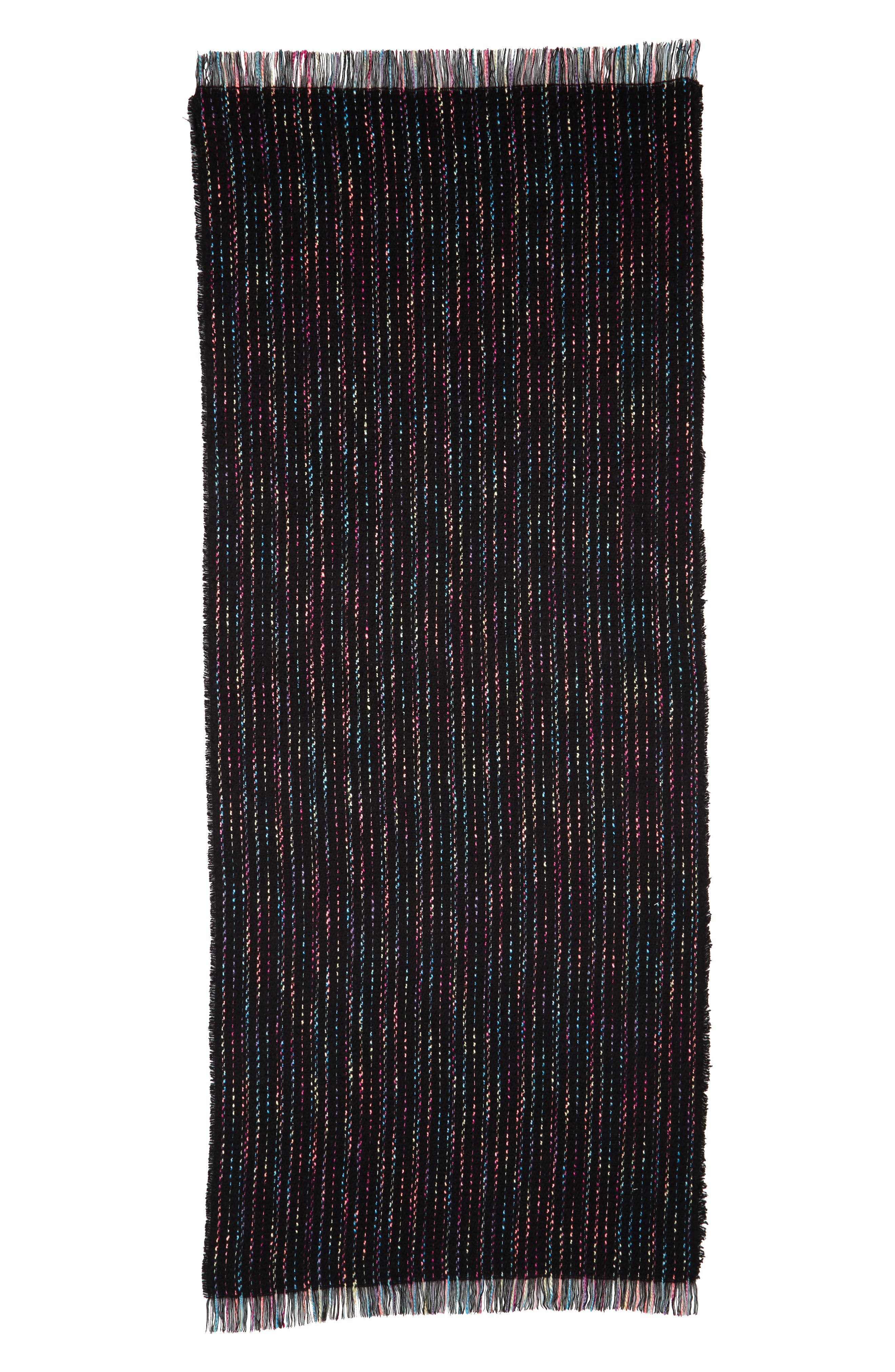 Alternate Image 2  - BP. Multicolor Stripe Scarf