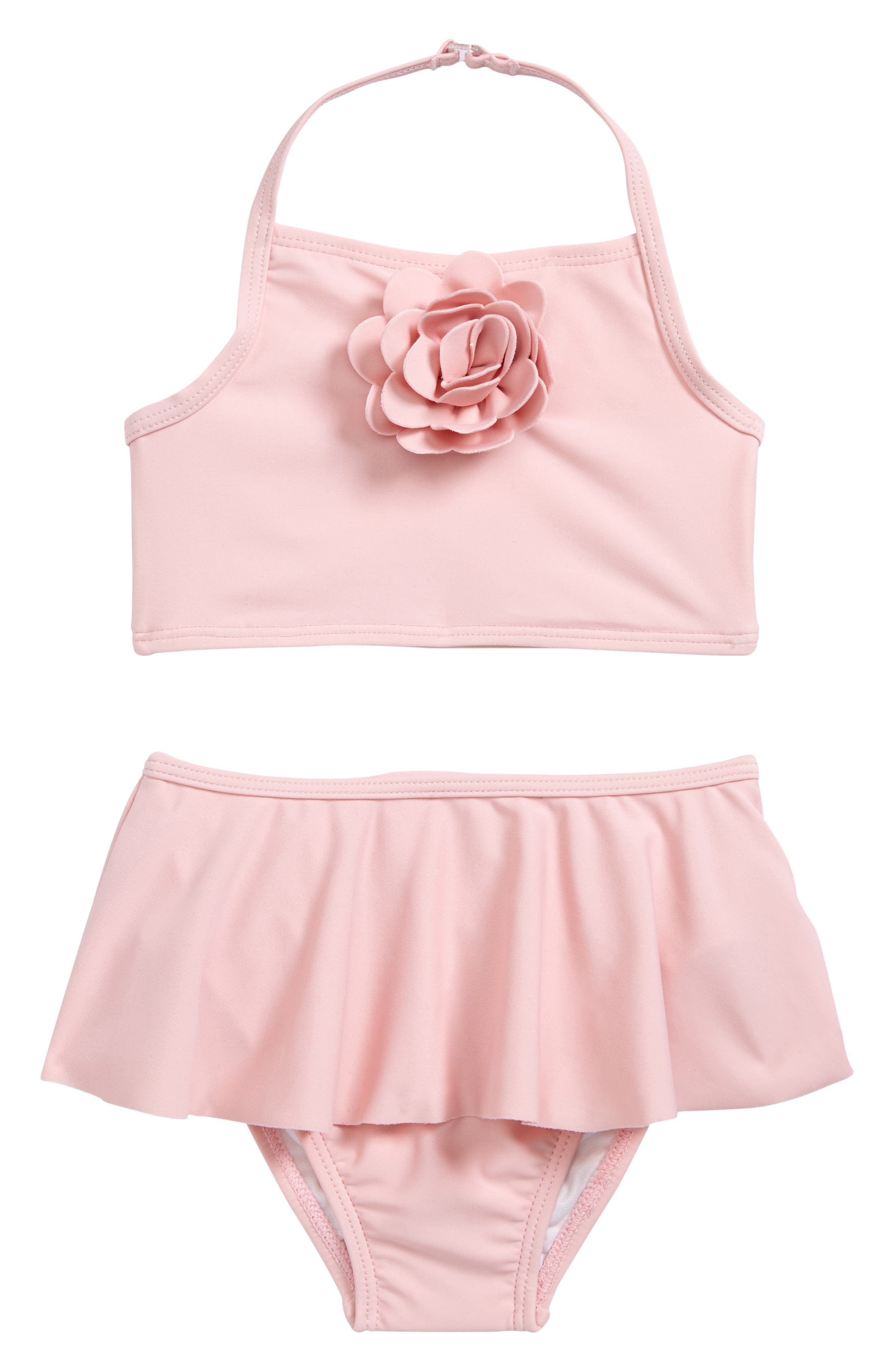 kate spade new york skirted two-piece swimsuit (Baby Girls)