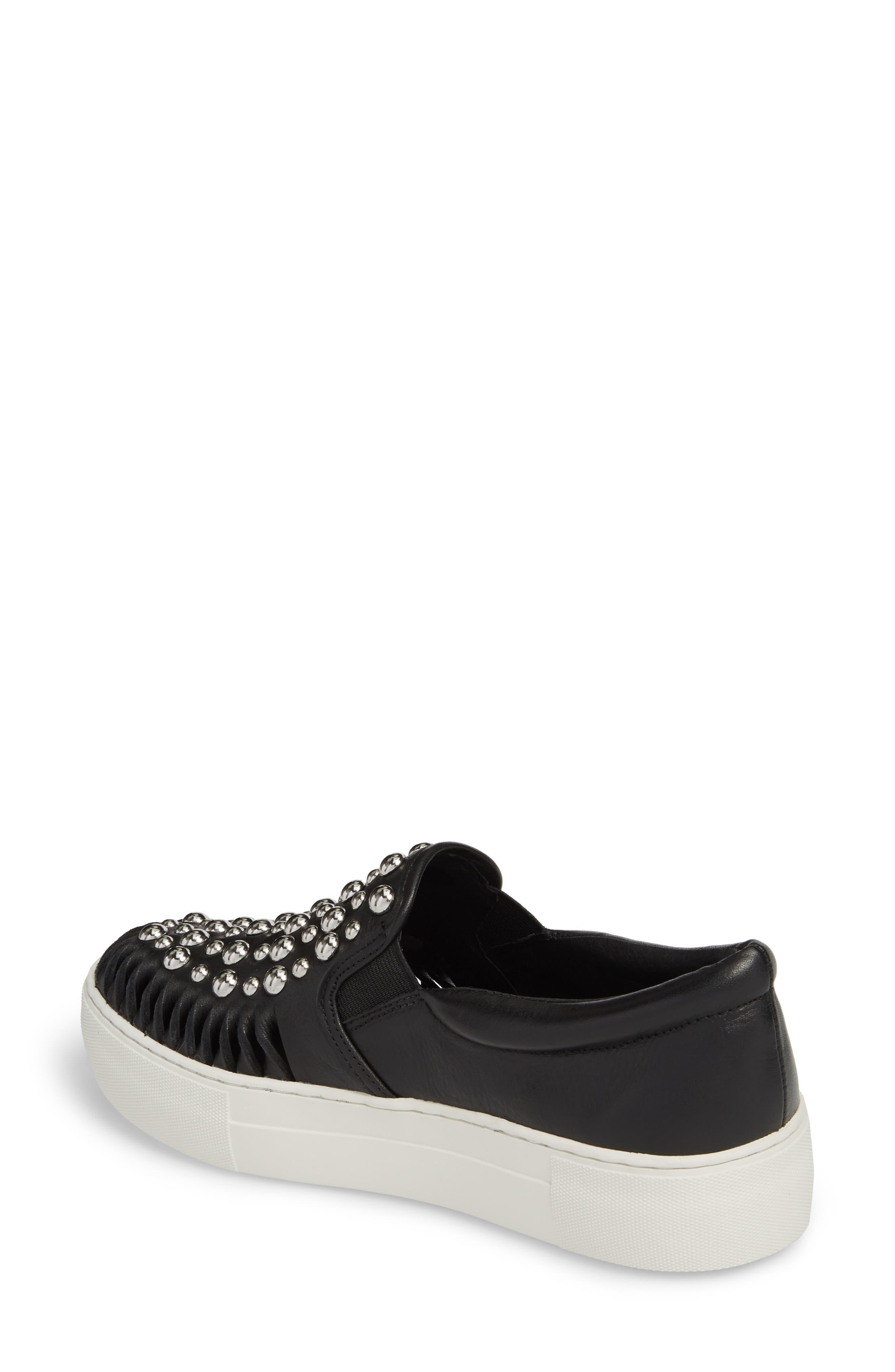 Alternate Image 2  - JSlides AZT Studded Slip-On Sneaker (Women)