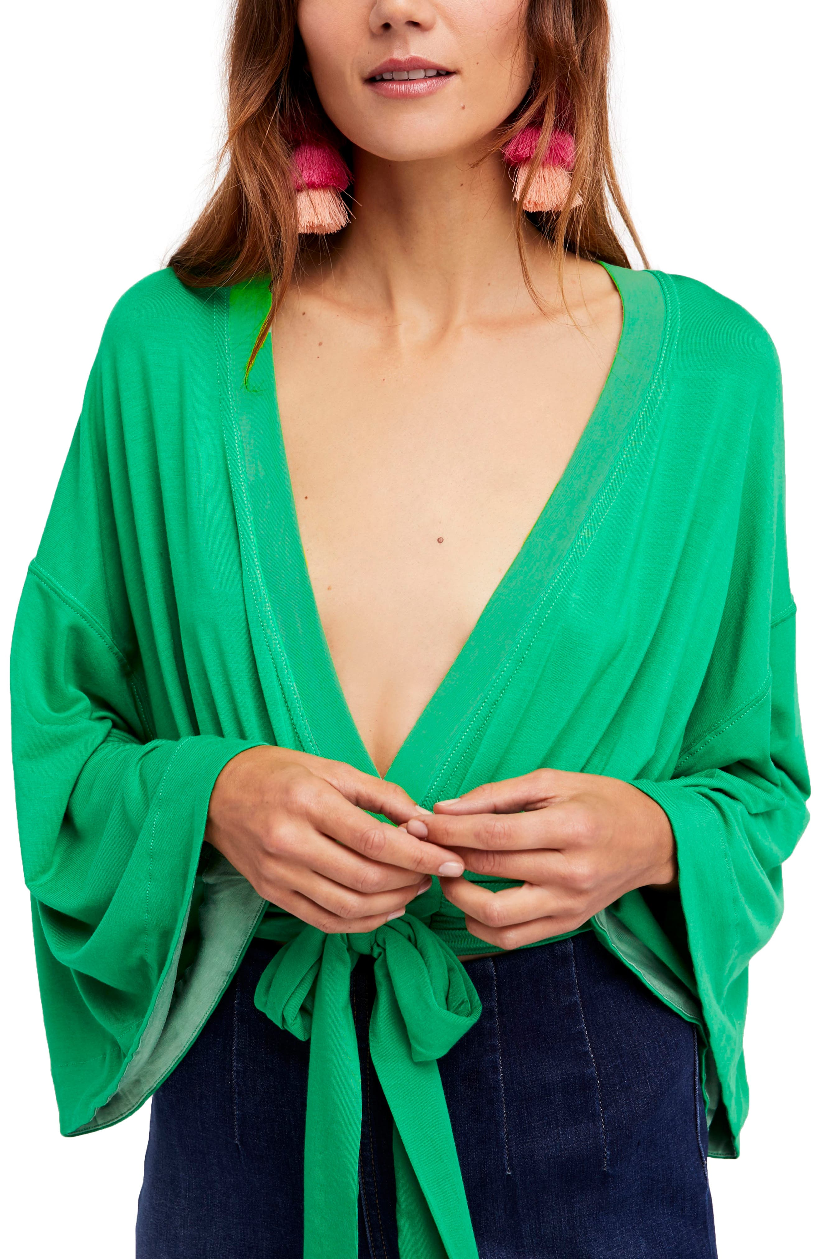 Alternate Image 1 Selected - Free People That's a Wrap Top