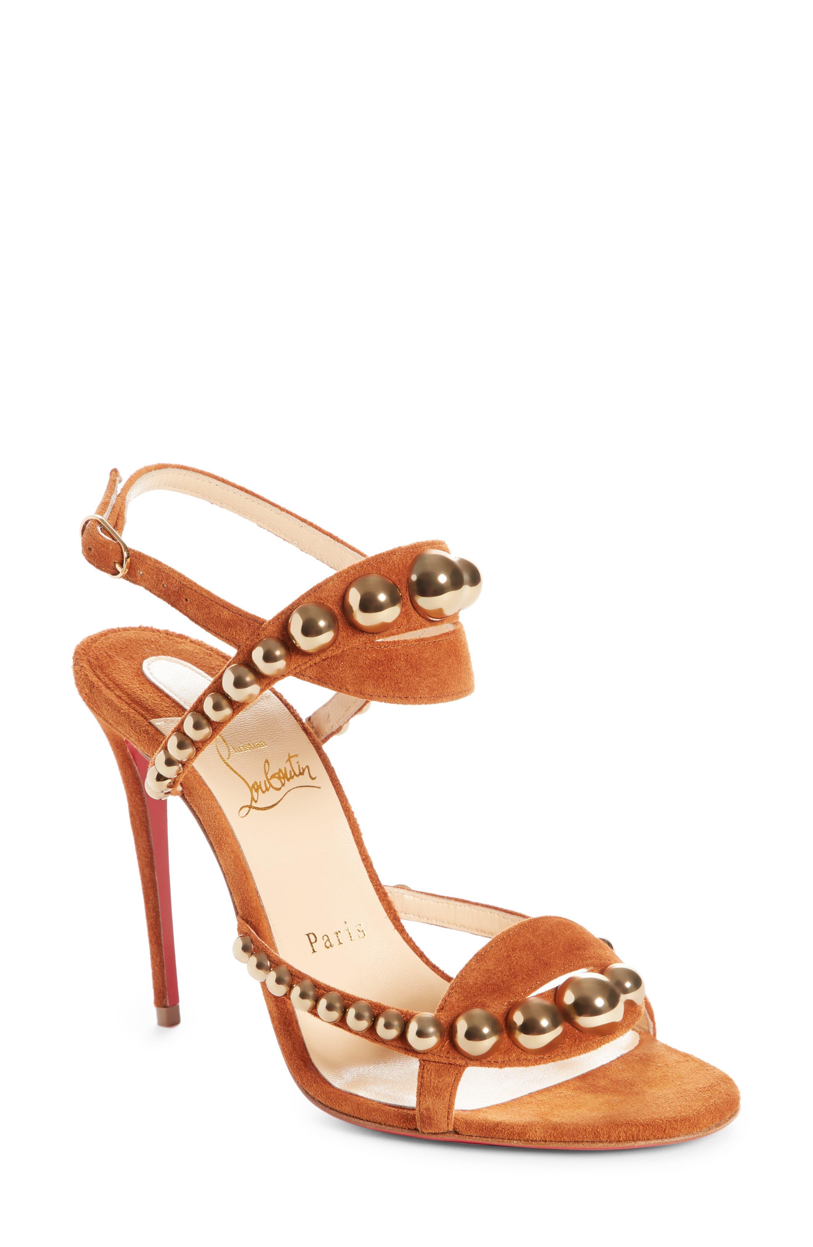 Galeria Ornament Sandal,                             Main thumbnail 1, color,                             Cannelle/ Bronze