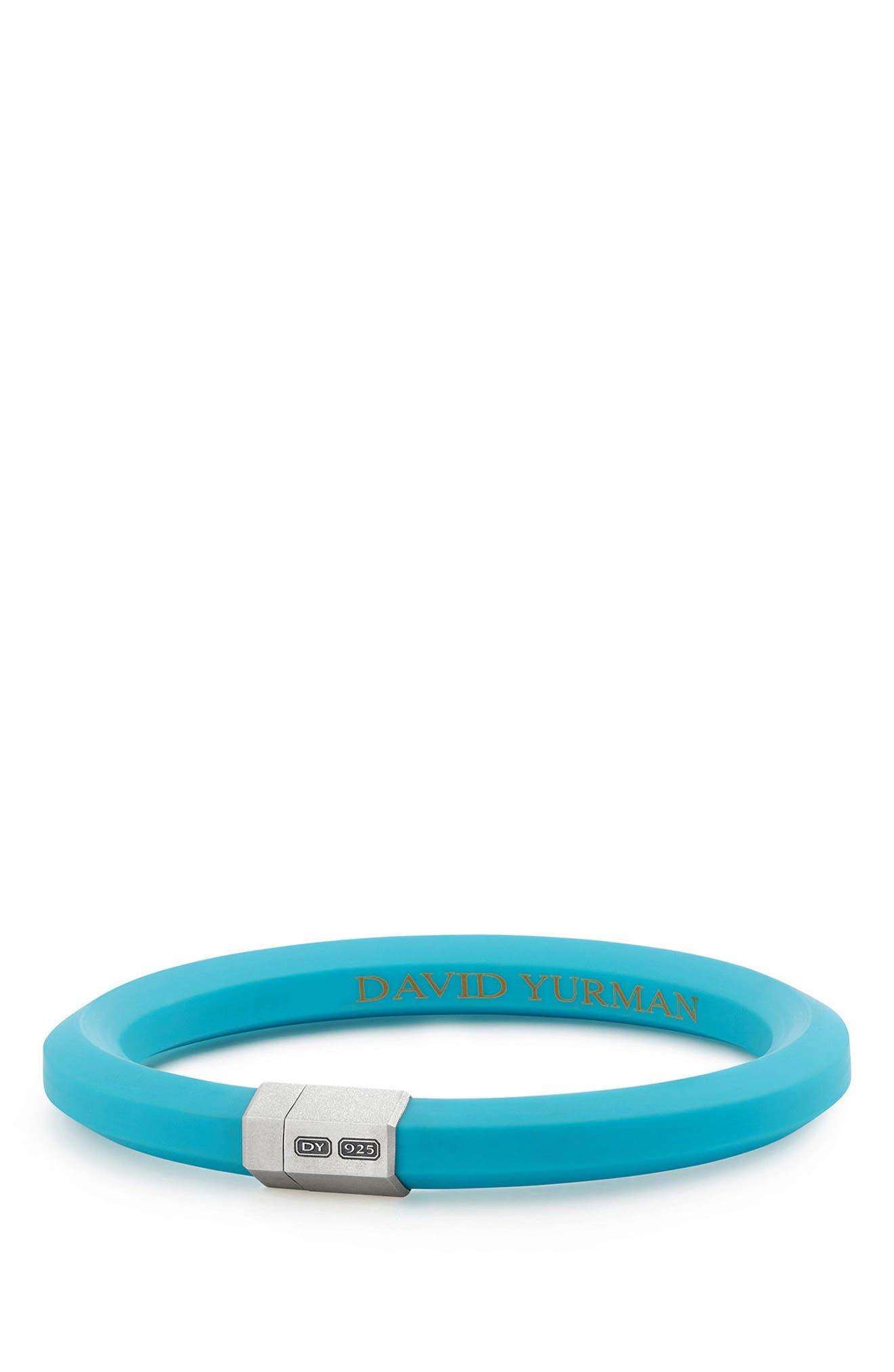 10.5mm Hex Bracelet,                         Main,                         color, Teal