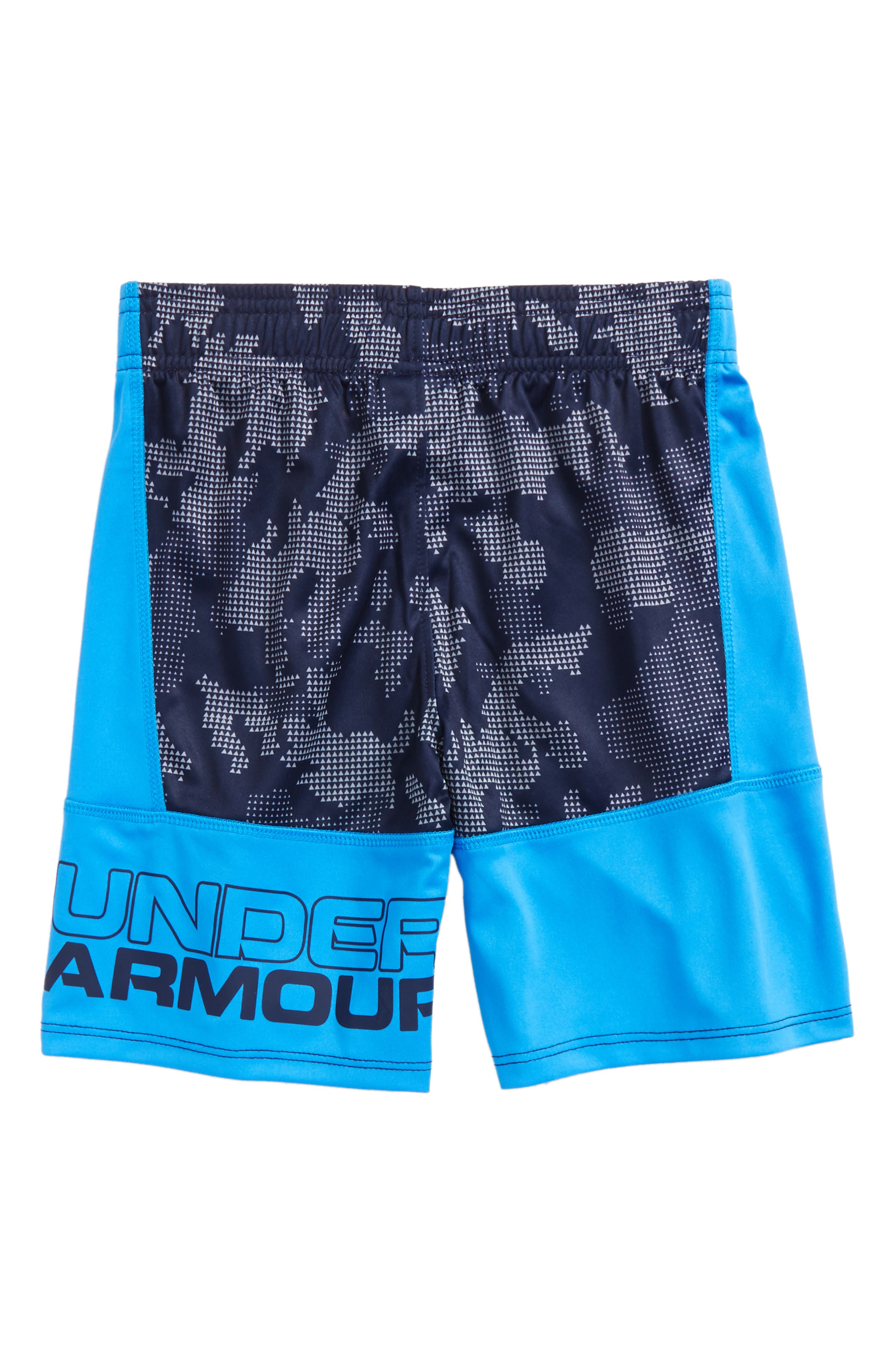 Alternate Image 2  - Under Armour Stunt HeatGear® Shorts (Toddler Boys & LIttle Boys)