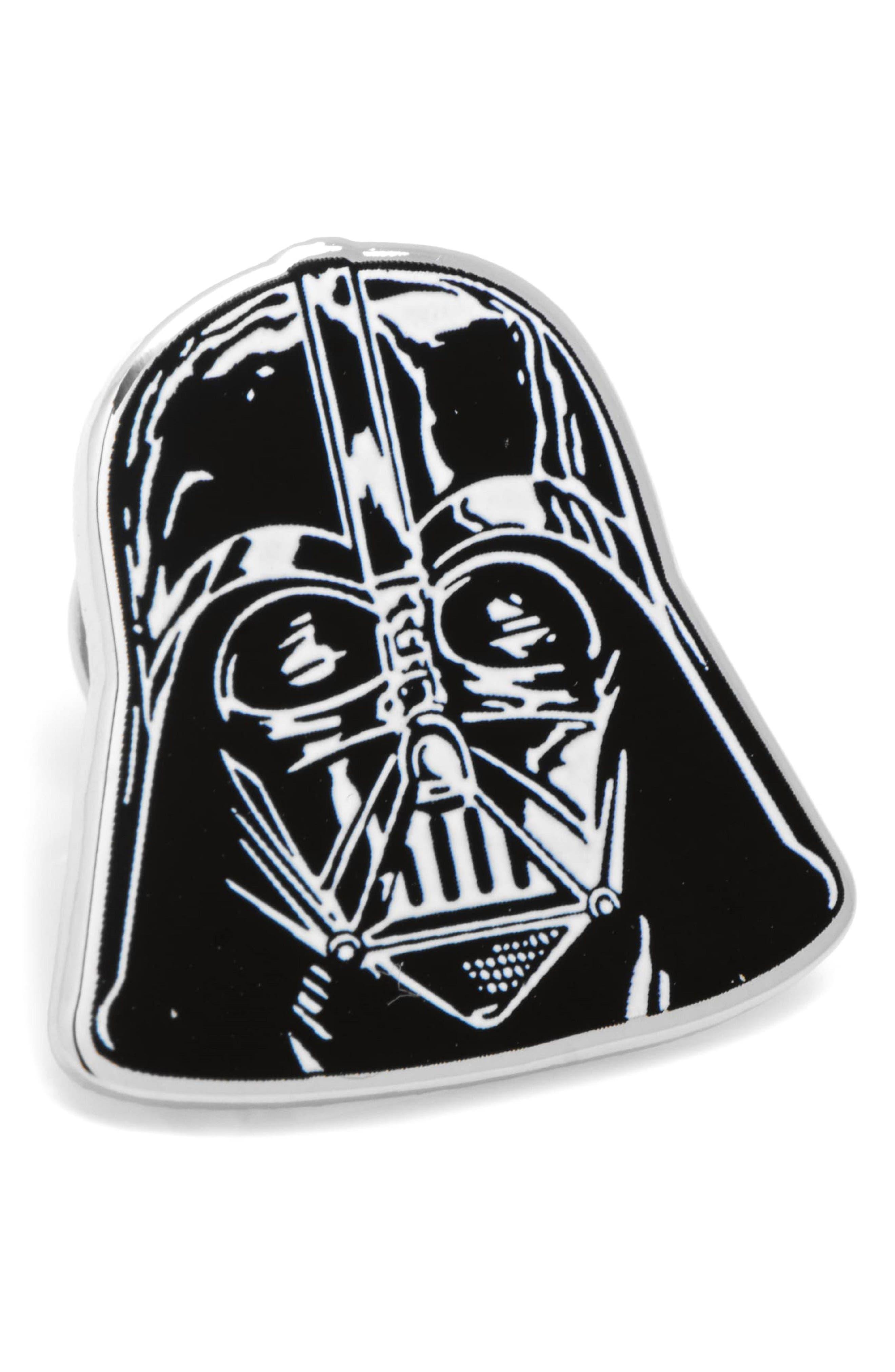 Star Wars<sup>™</sup> - Darth Vader Lapel Pin,                         Main,                         color, Silver