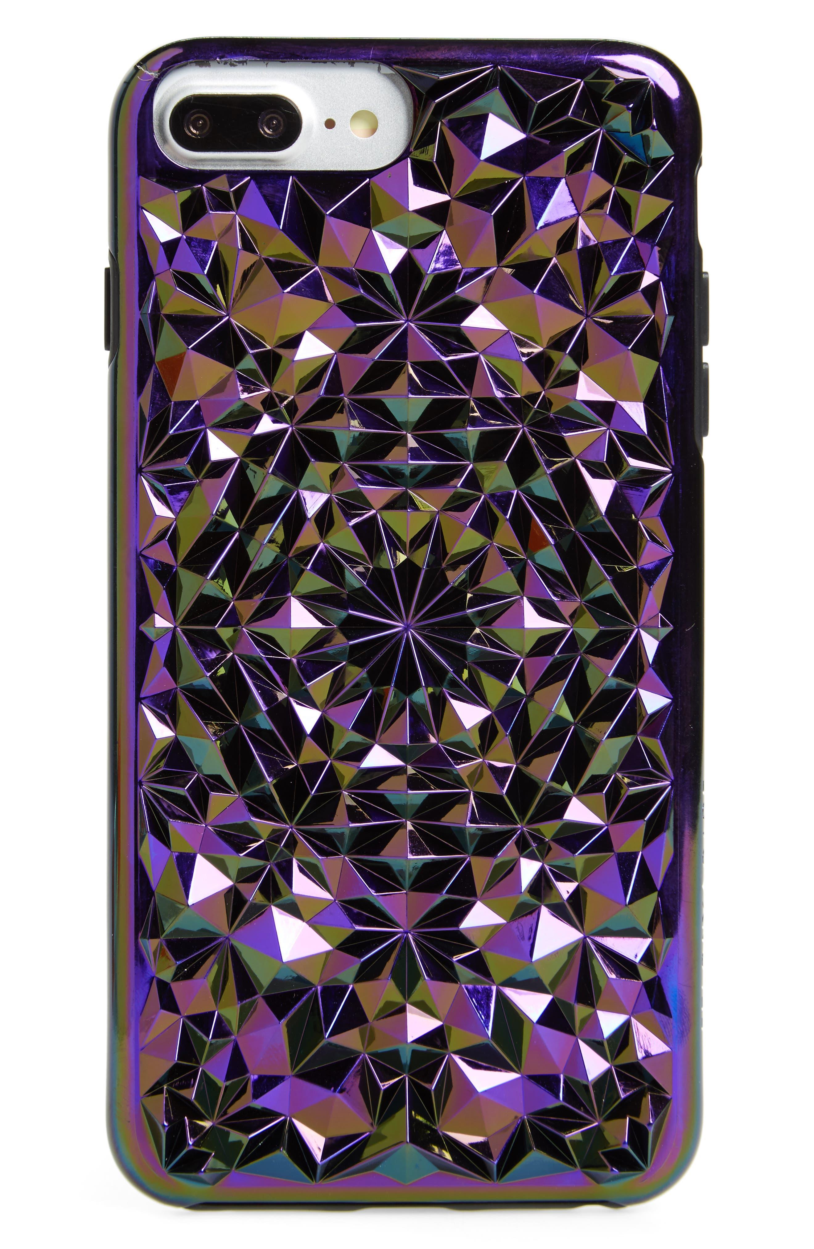 Cosmic Kaleidoscope iPhone 7/8 & 7/8 Plus Case,                         Main,                         color, Multi