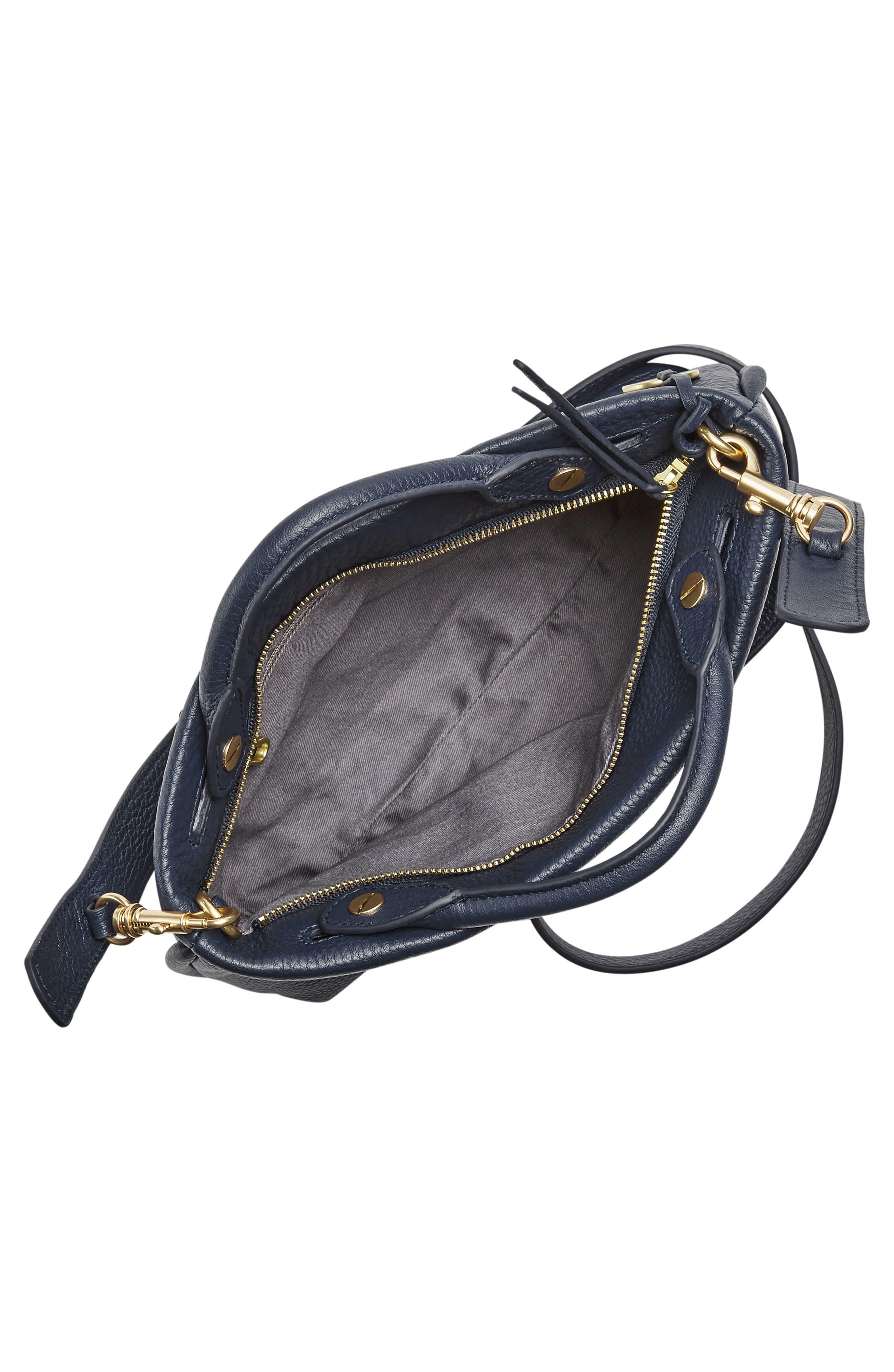 Alternate Image 3  - Skagen Mikkeline Mini Leather Satchel