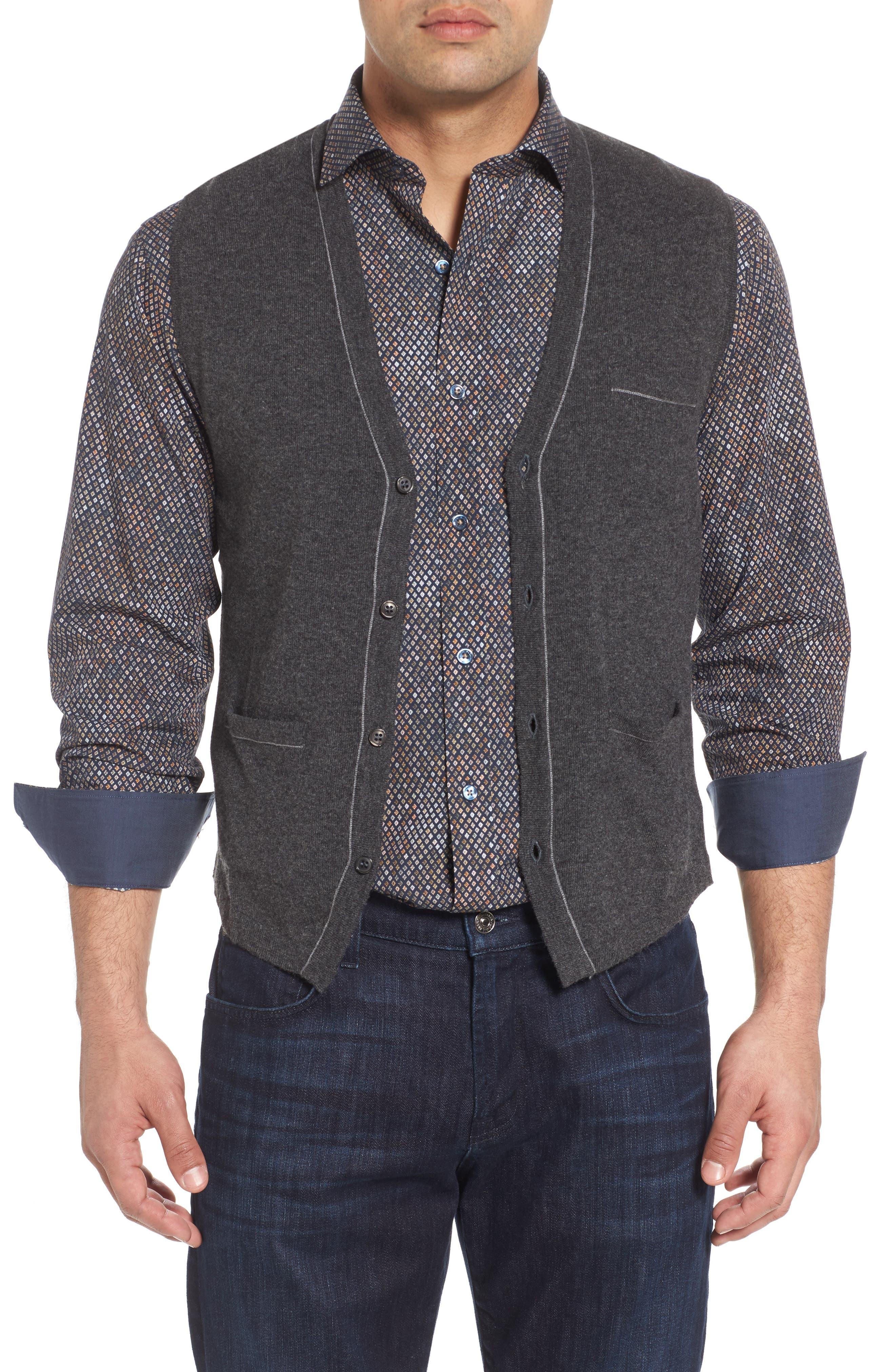 Men's Grey Sweater Vests | Nordstrom